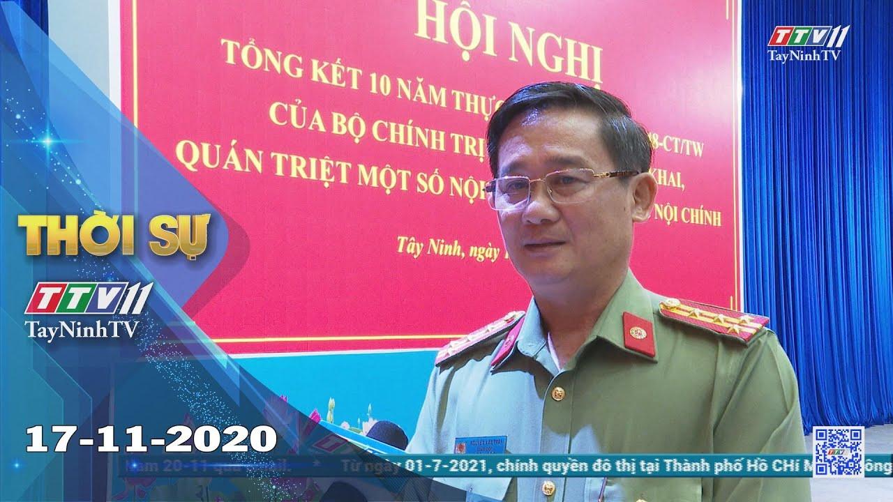 Thời sự Tây Ninh 17-11-2020 | Tin tức hôm nay | TayNinhTV