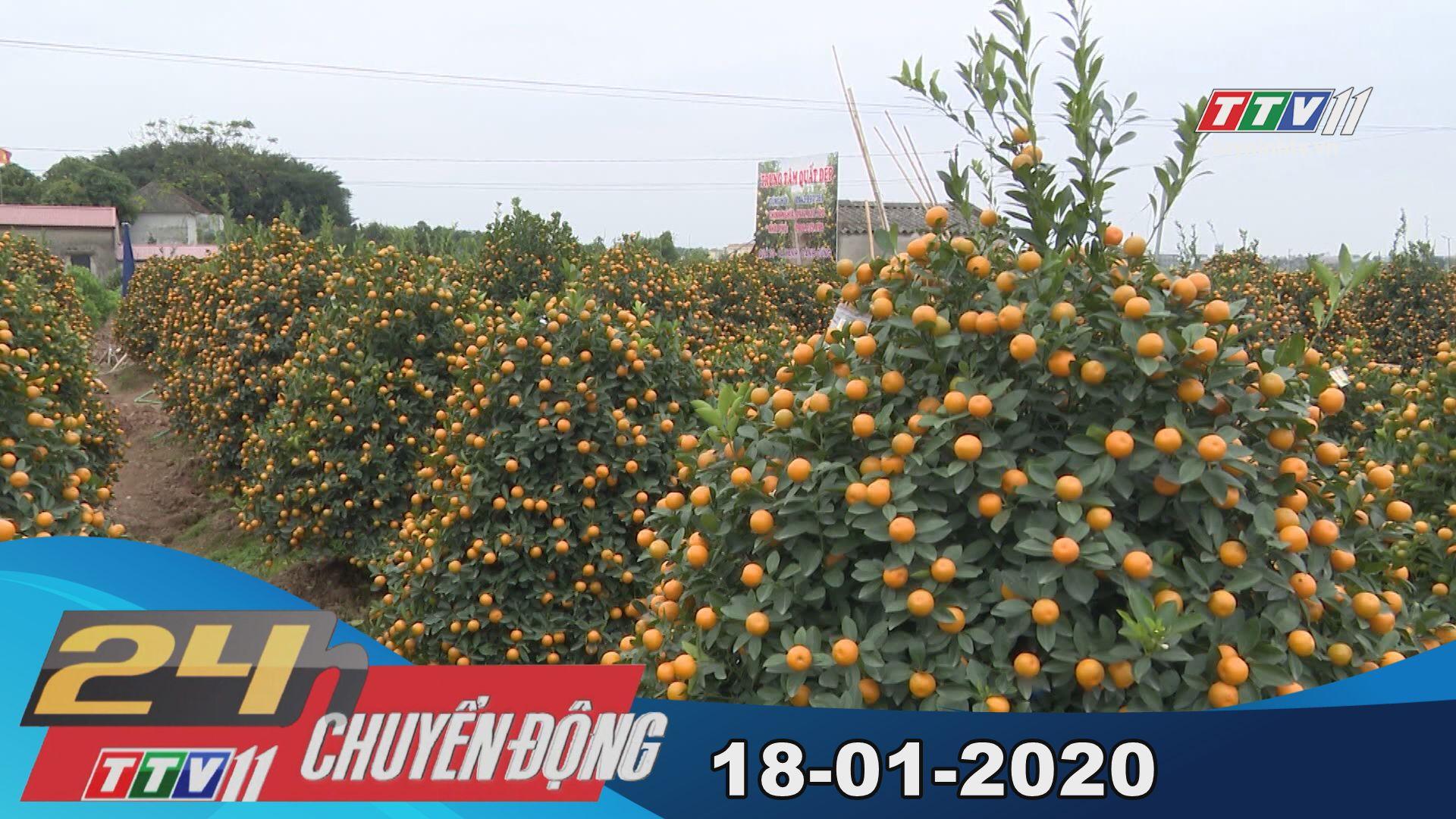 24h Chuyển động 18-01-2020 | Tin tức hôm nay | TayNinhTV