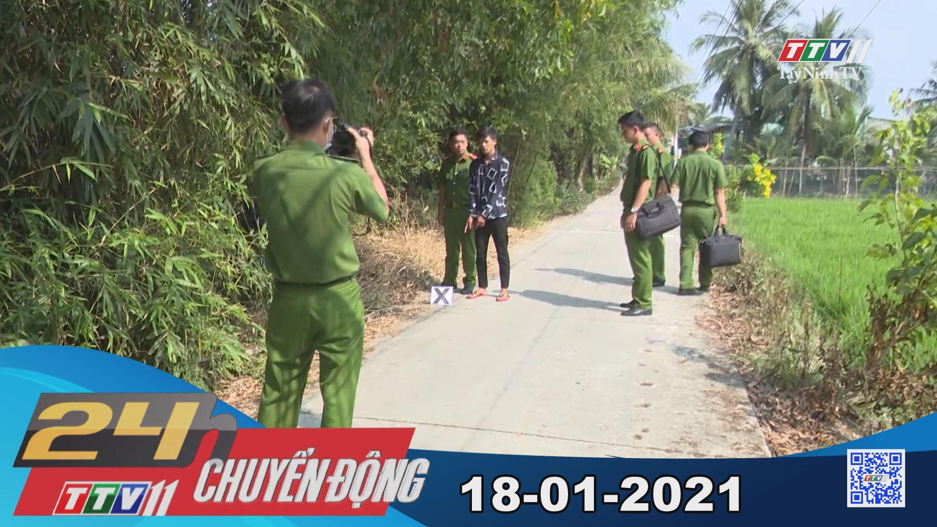 24h Chuyển động 18-01-2021 | Tin tức hôm nay | TayNinhTV