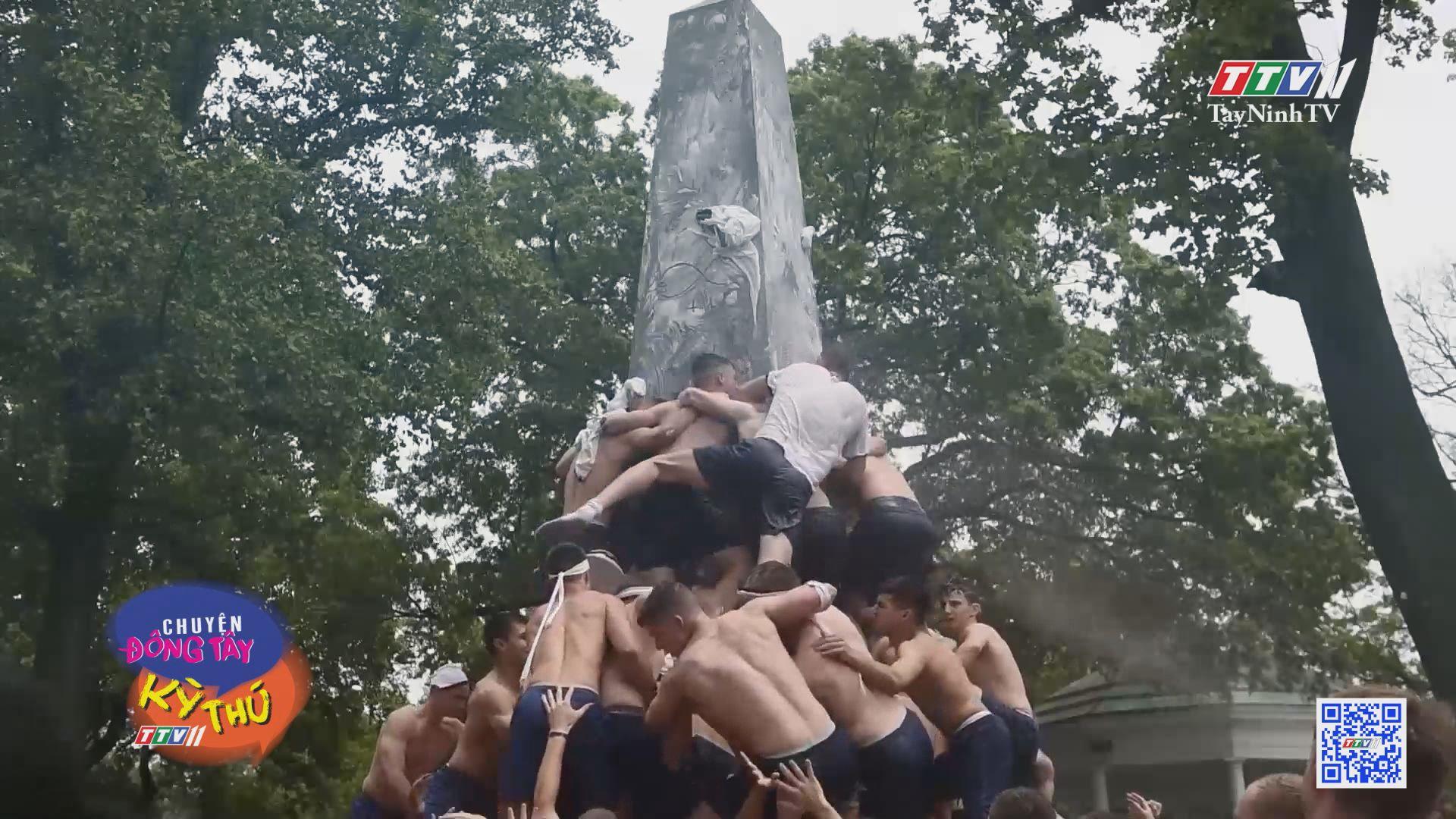 Kỳ thú trò thử thách leo cột của tân binh hải quân Mỹ | CHUYỆN ĐÔNG TÂY KỲ THÚ | TayNinhTVE