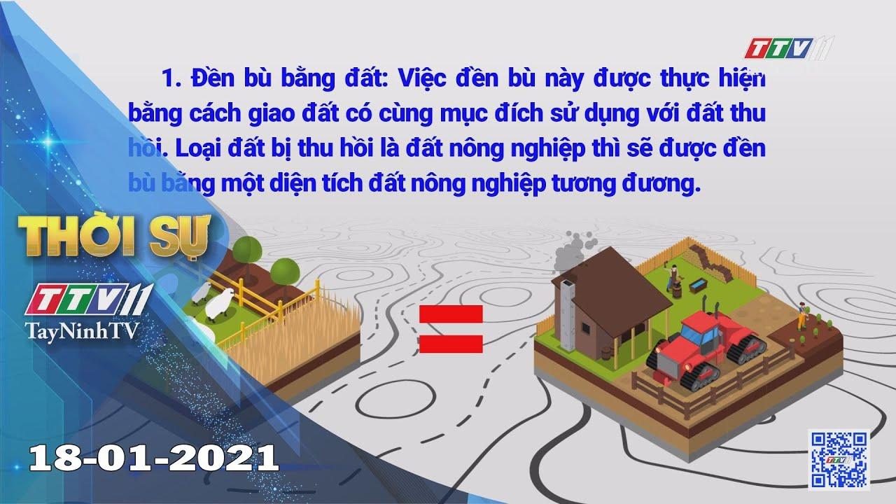 Thời sự Tây Ninh 18-01-2021 | Tin tức hôm nay | TayNinhTV
