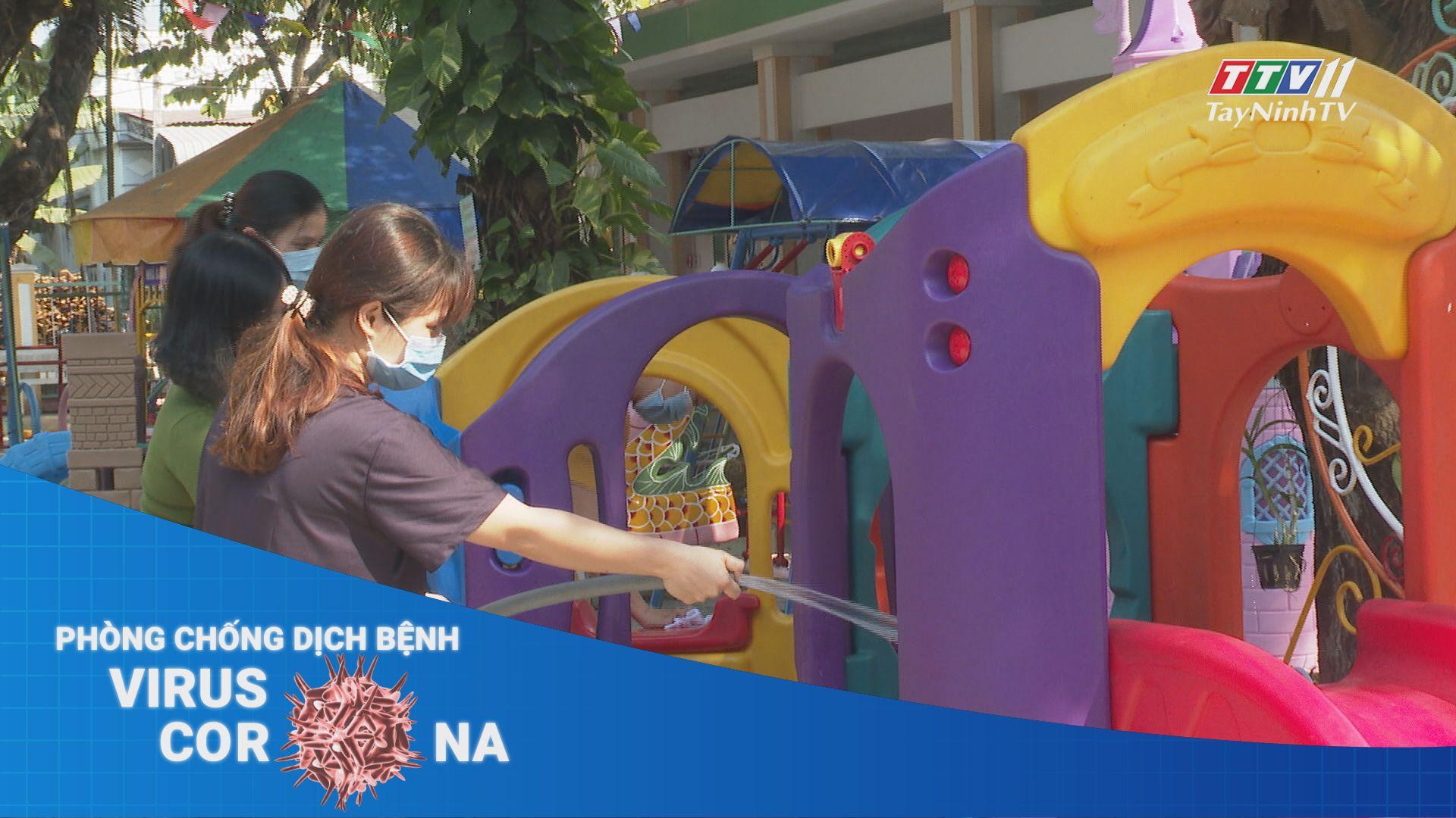 Đảm bảo công tác phòng dịch covid - 19 tại các trường học trên địa bàn tỉnh | THÔNG TIN DỊCH CÚM COVID - 19 | TayNinhTV