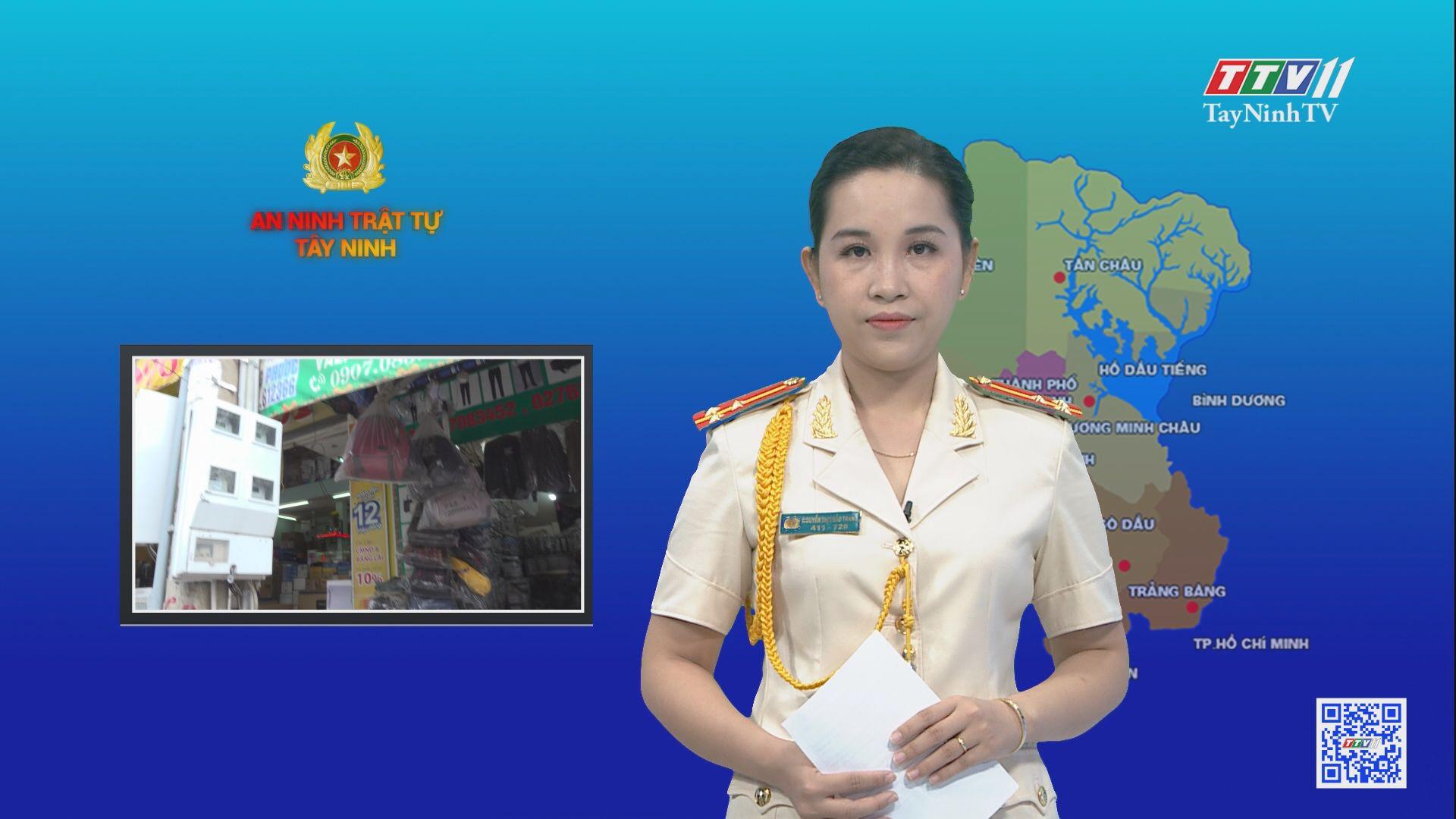 Phòng ngừa hiểm họa cháy, nổ từ những nhà ở kết hợp kinh doanh | AN NINH TRẬT TỰ | TayNinhTV