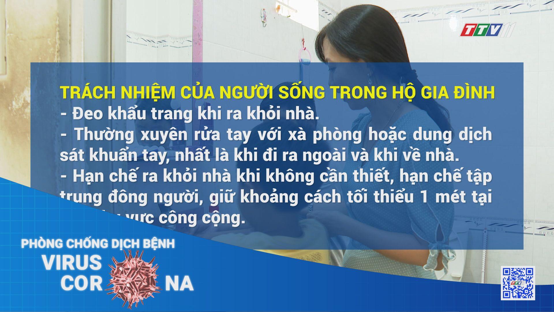 Hướng dẫn phòng chống dịch Covid-19 trong tình hình mới hộ gia đình | THÔNG TIN DỊCH CÚM COVID-19 | TayNinhTV