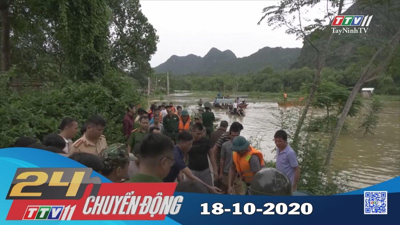 24h Chuyển động 18-10-2020 | Tin tức hôm nay | TayNinhTV