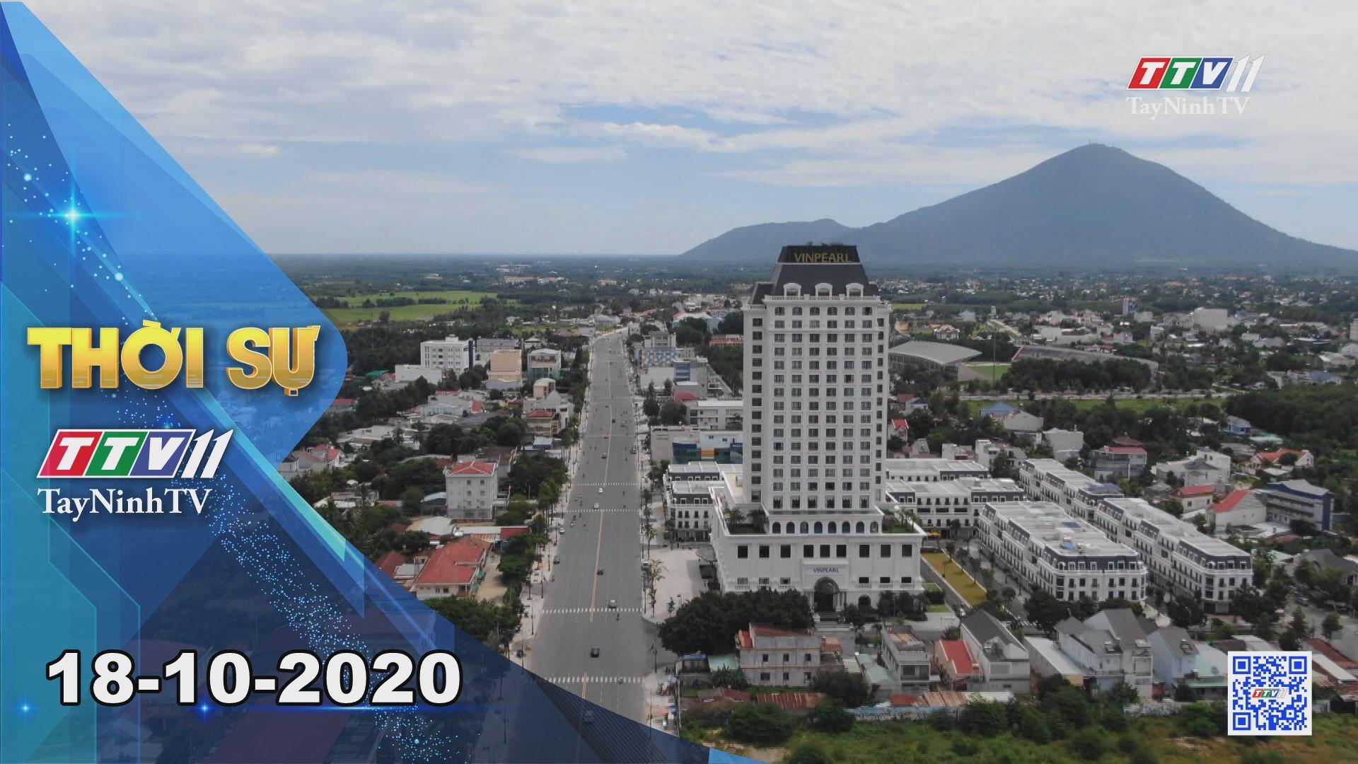 Thời sự Tây Ninh 18-10-2020 | Tin tức hôm nay | TayNinhTV