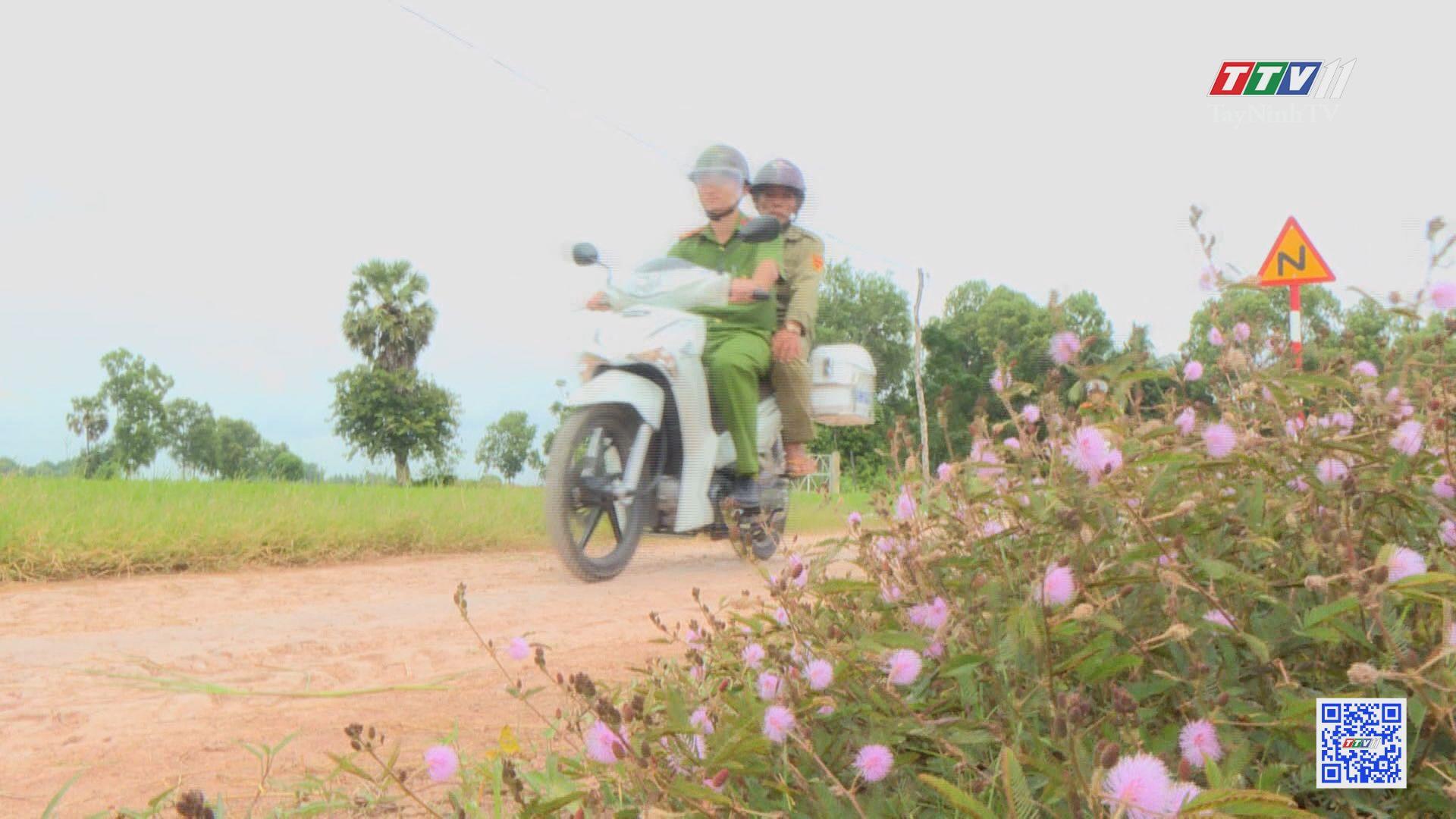 Công an xã Tiên Thuận nỗ lực đảm bảo an ninh trật tự vùng biên | AN NINH TÂY NINH | TayNinhTV