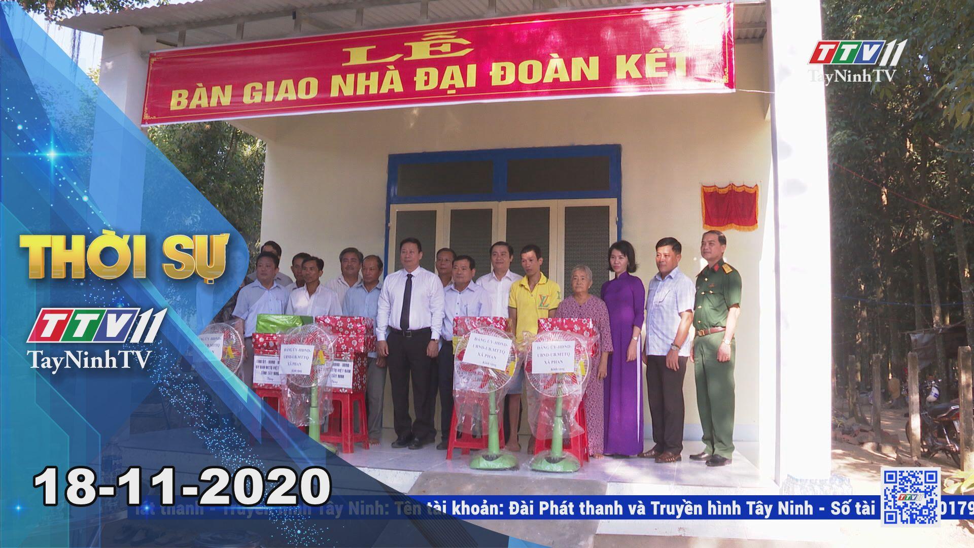 Thời sự Tây Ninh 18-11-2020 | Tin tức hôm nay | TayNinhTV