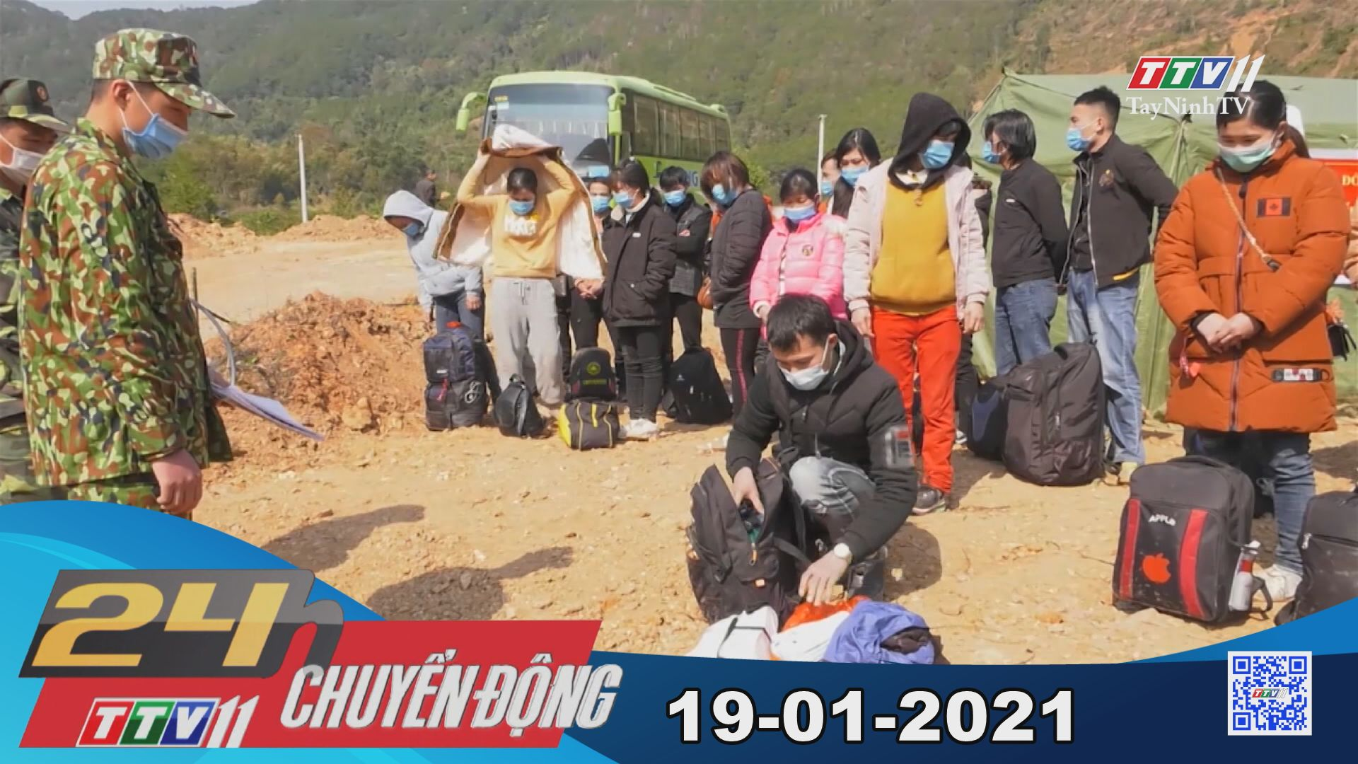24h Chuyển động 19-01-2021 | Tin tức hôm nay | TayNinhTV