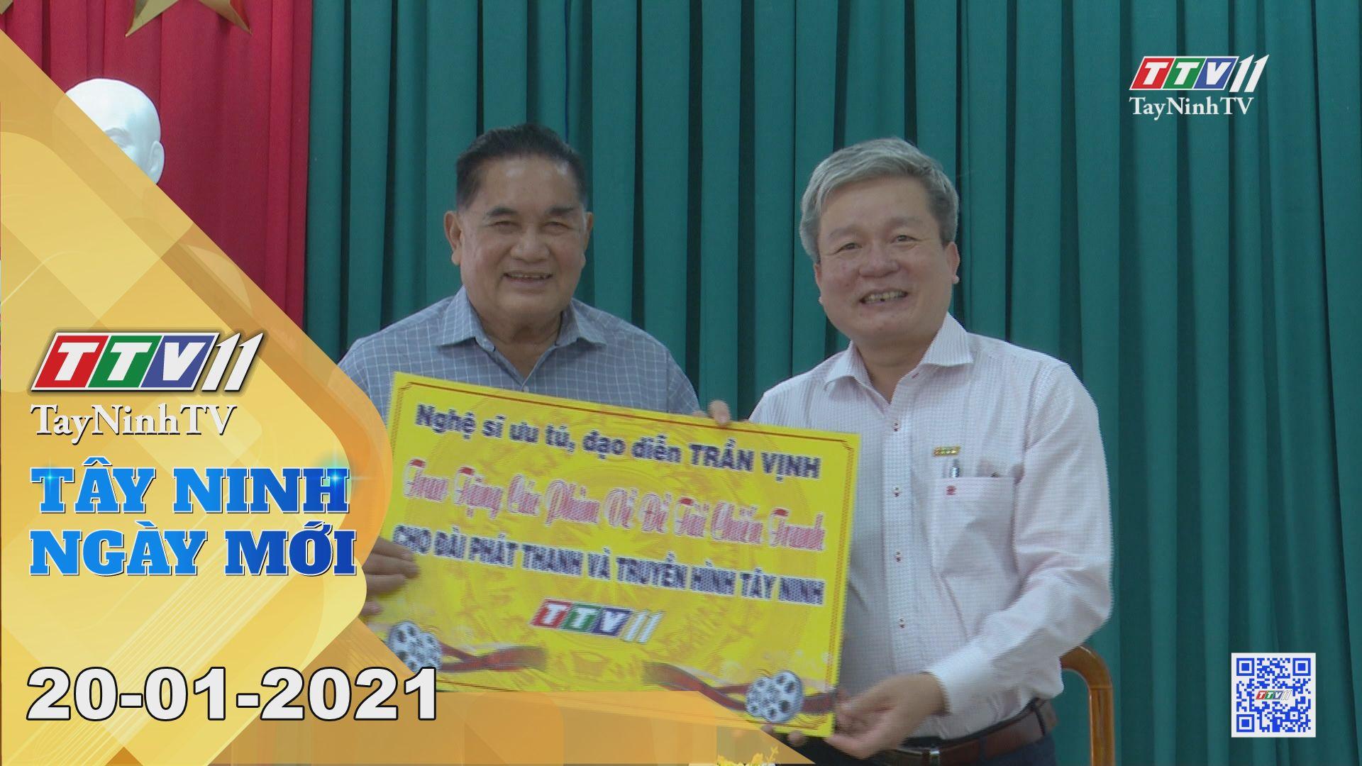 Tây Ninh Ngày Mới 20-01-2021 | Tin tức hôm nay | TayNinhTV