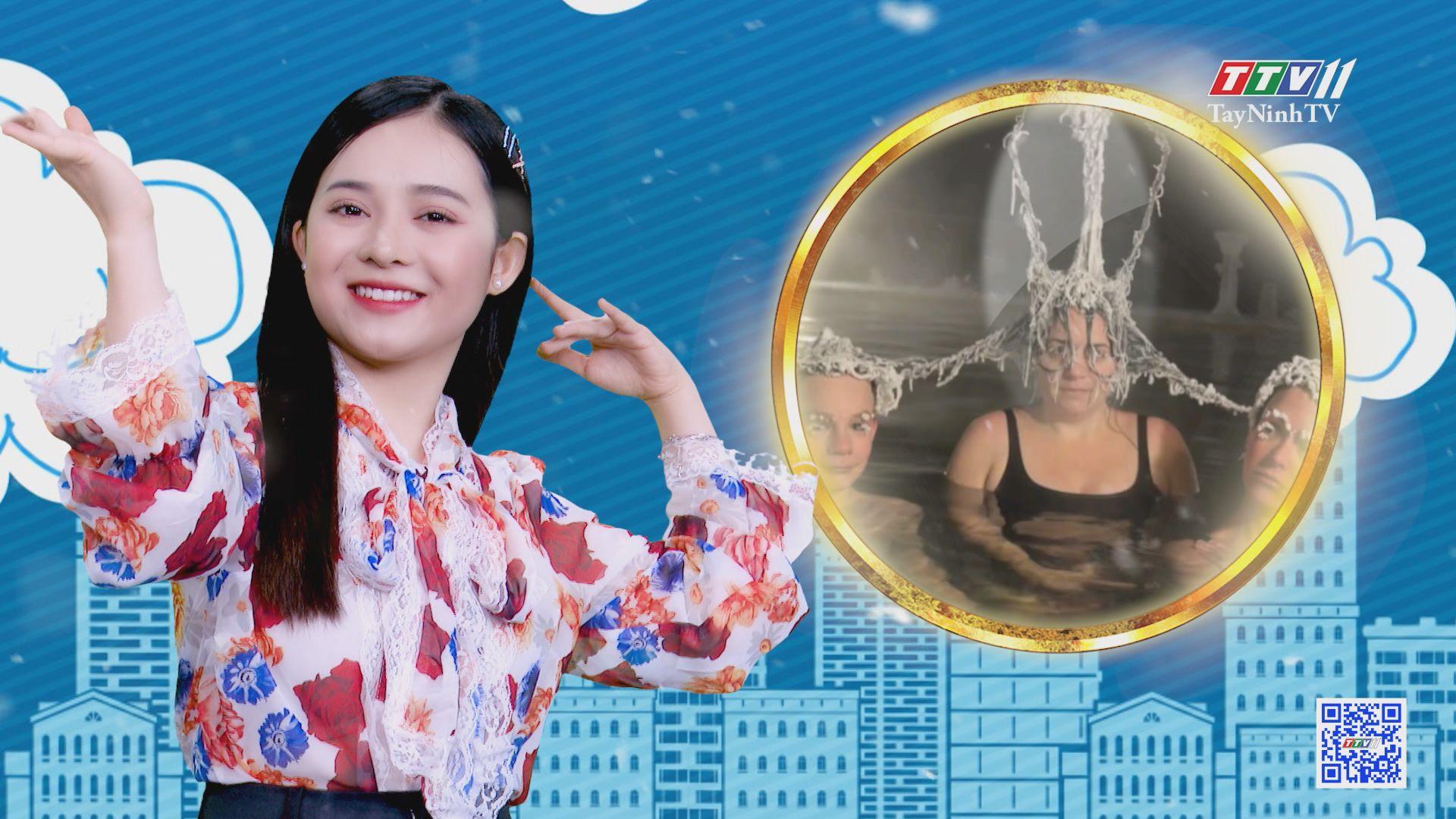 Đóng băng tóc: cuộc thi kỳ quái có một không hai | CHUYỆN ĐÔNG TÂY KỲ THÚ | TayNinhTVE