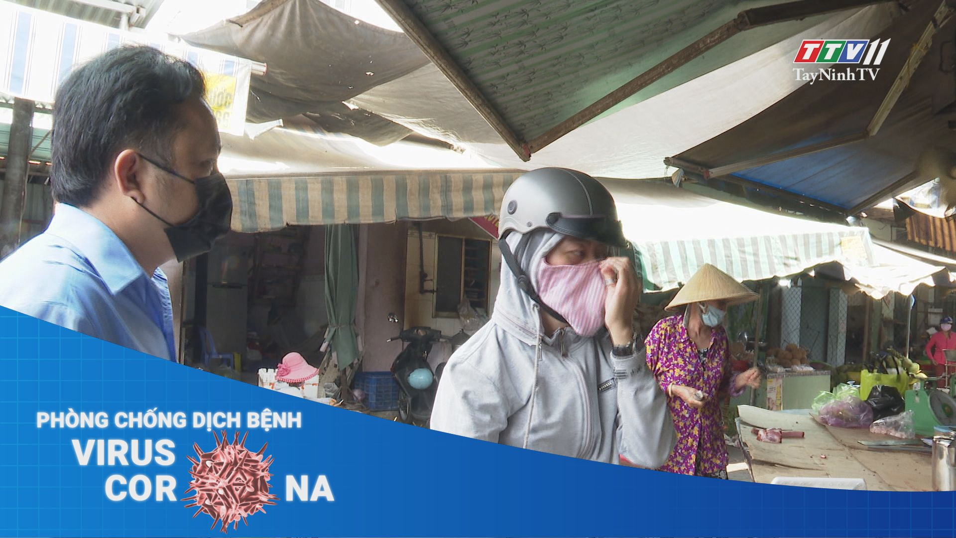 Người dân chấp hành đeo khẩu trang nơi công cộng | THÔNG TIN DỊCH CÚM COVID-19 | TayNinhTV