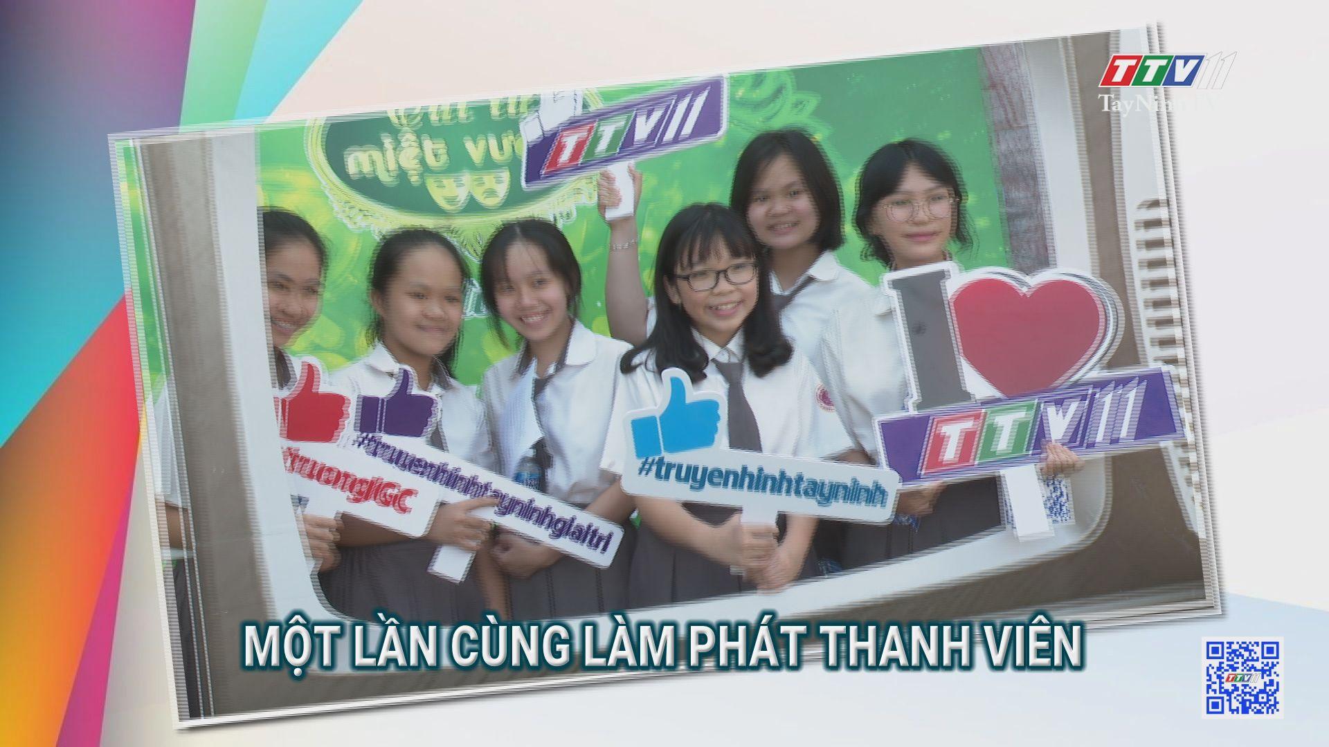Một lần cùng làm Phát thanh viên | TRANG TUỔI THƠ | TayNinhTV