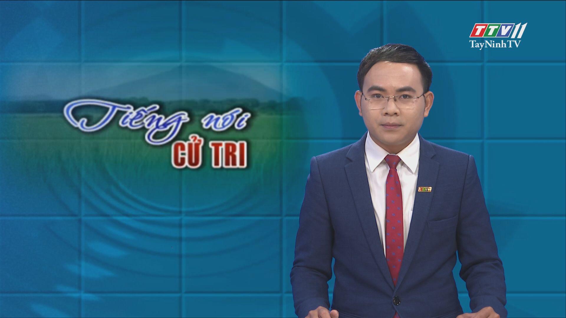 Đoàn khảo sát HĐND tỉnh khảo sát thực tế từ kiến nghị của cử tri | TIẾNG NÓI CỬ TRI | TayNinhTV