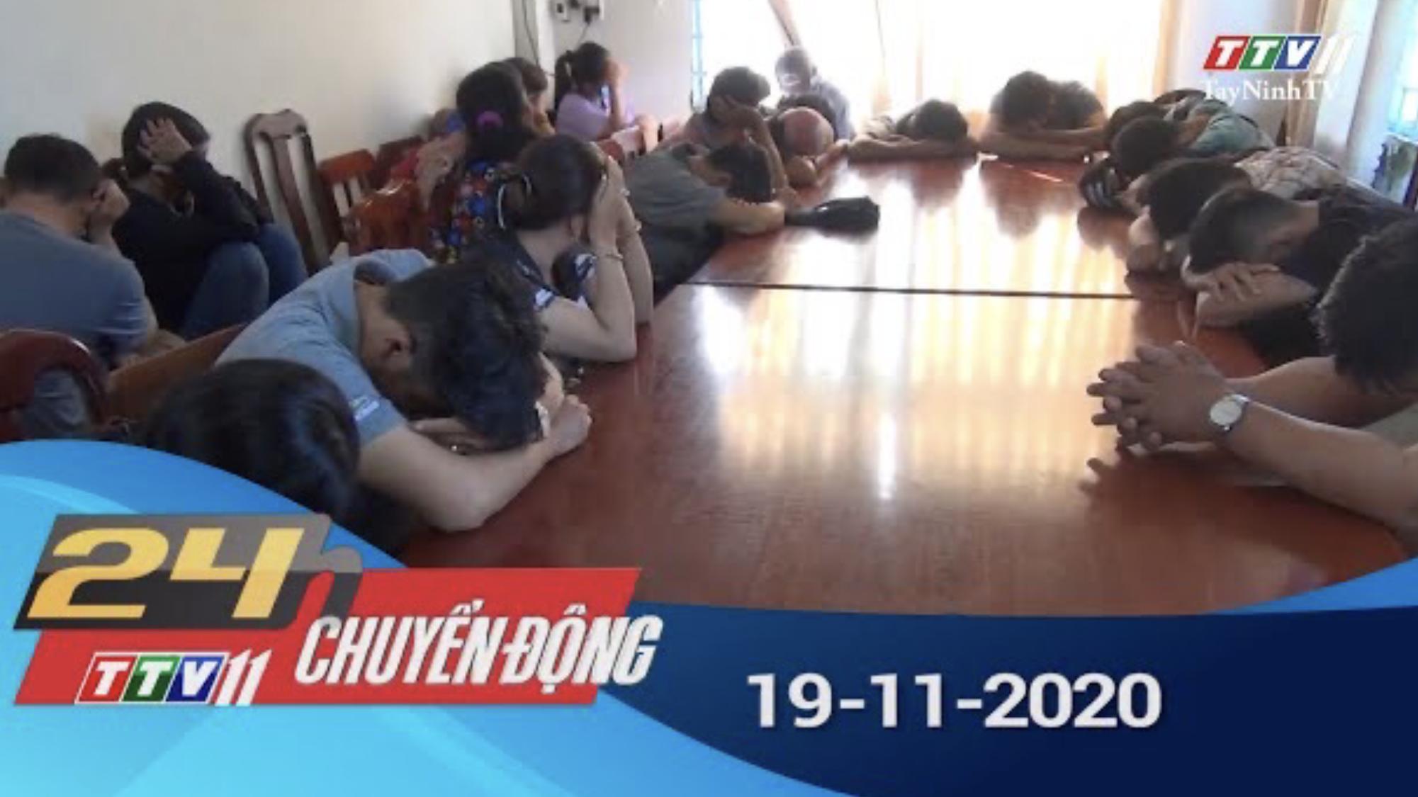 24h Chuyển động 19-11-2020 | Tin tức hôm nay | TayNinhTV