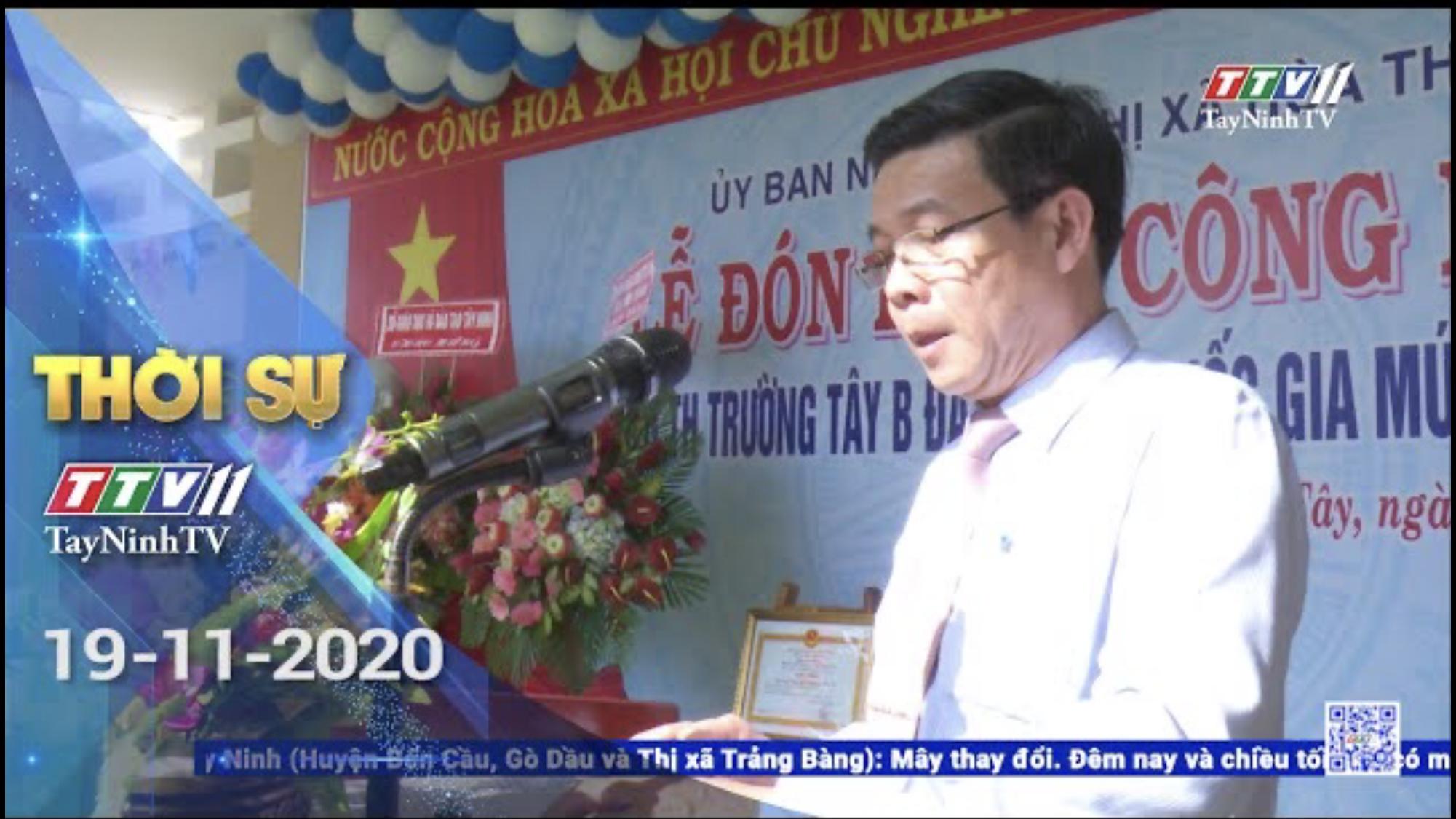 Thời sự Tây Ninh 19-11-2020 | Tin tức hôm nay | TayNinhTV