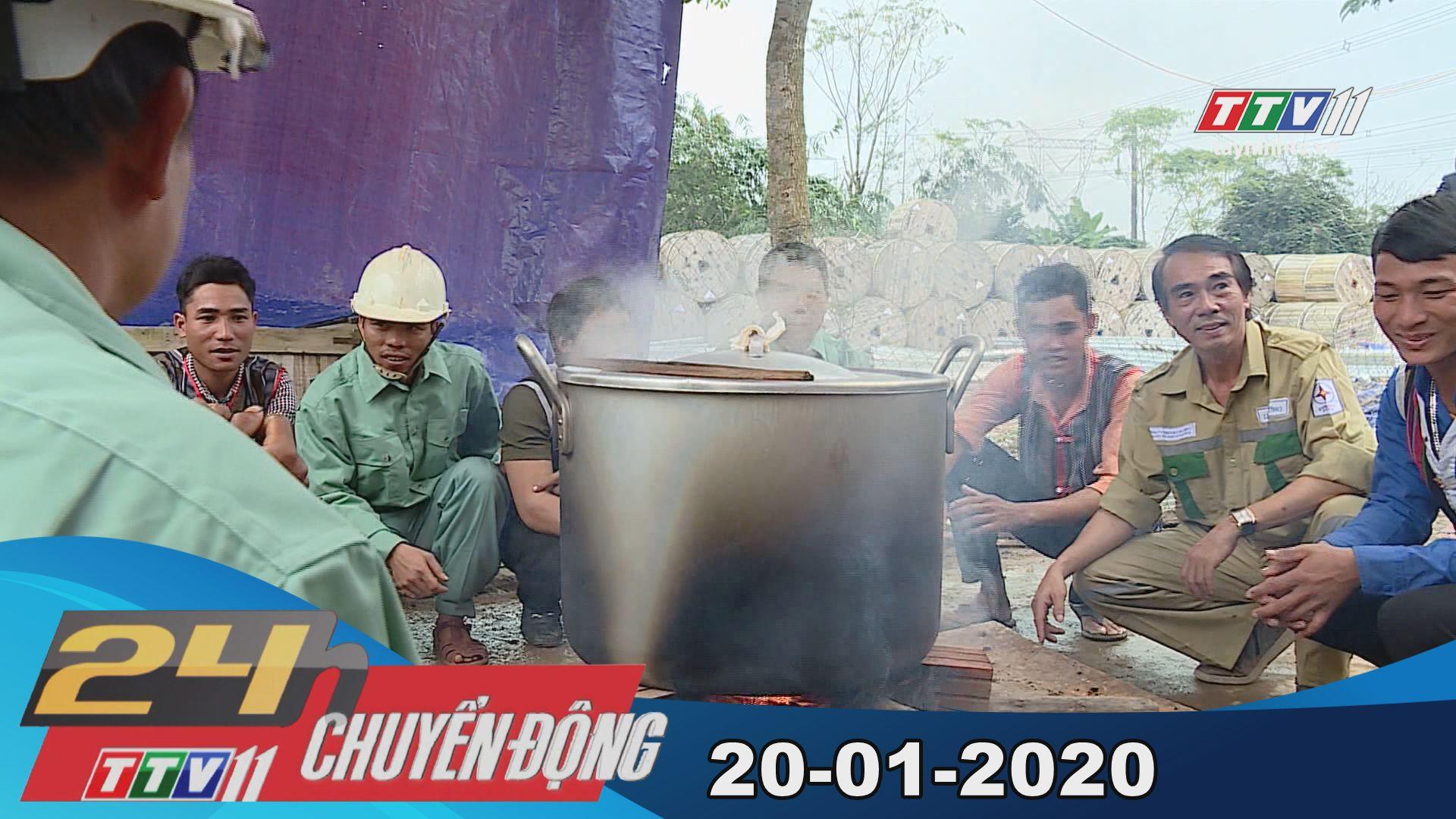 24h Chuyển động 20-01-2020 | Tin tức hôm nay | TayNinhTV