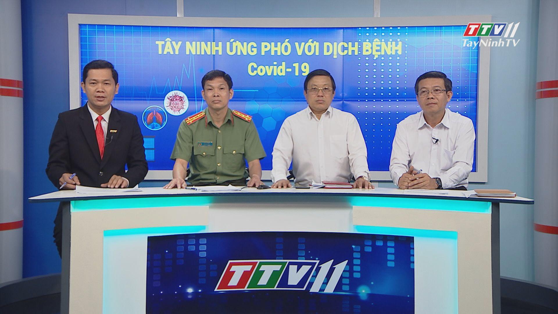 TỌA ĐÀM - Tây Ninh ứng phó với dịch Covid-19 | TIẾNG NÓI CỬ TRI | TayNinhTV