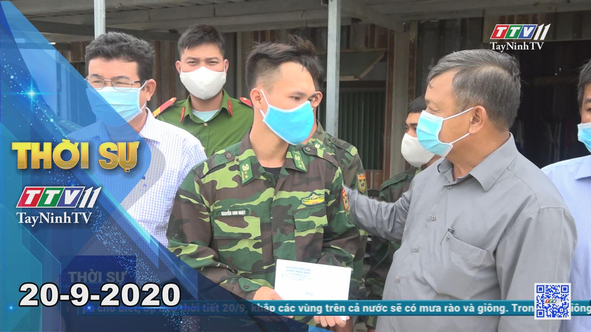 Thời sự Tây Ninh 20-9-2020 | Tin tức hôm nay | TayNinhTV