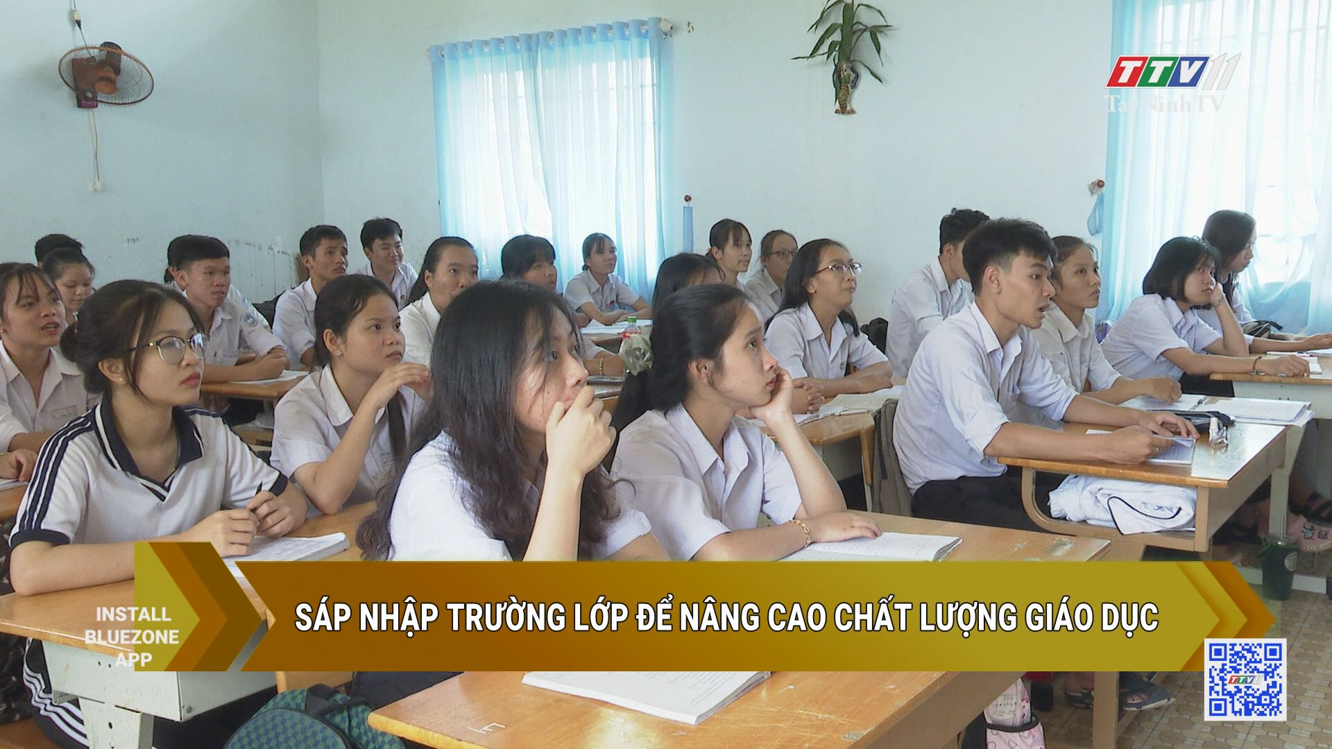 Sáp nhập trường lớp để nâng cao chất lượng giáo dục | GIÁO DỤC ĐÀO TẠO | TayNinhTV