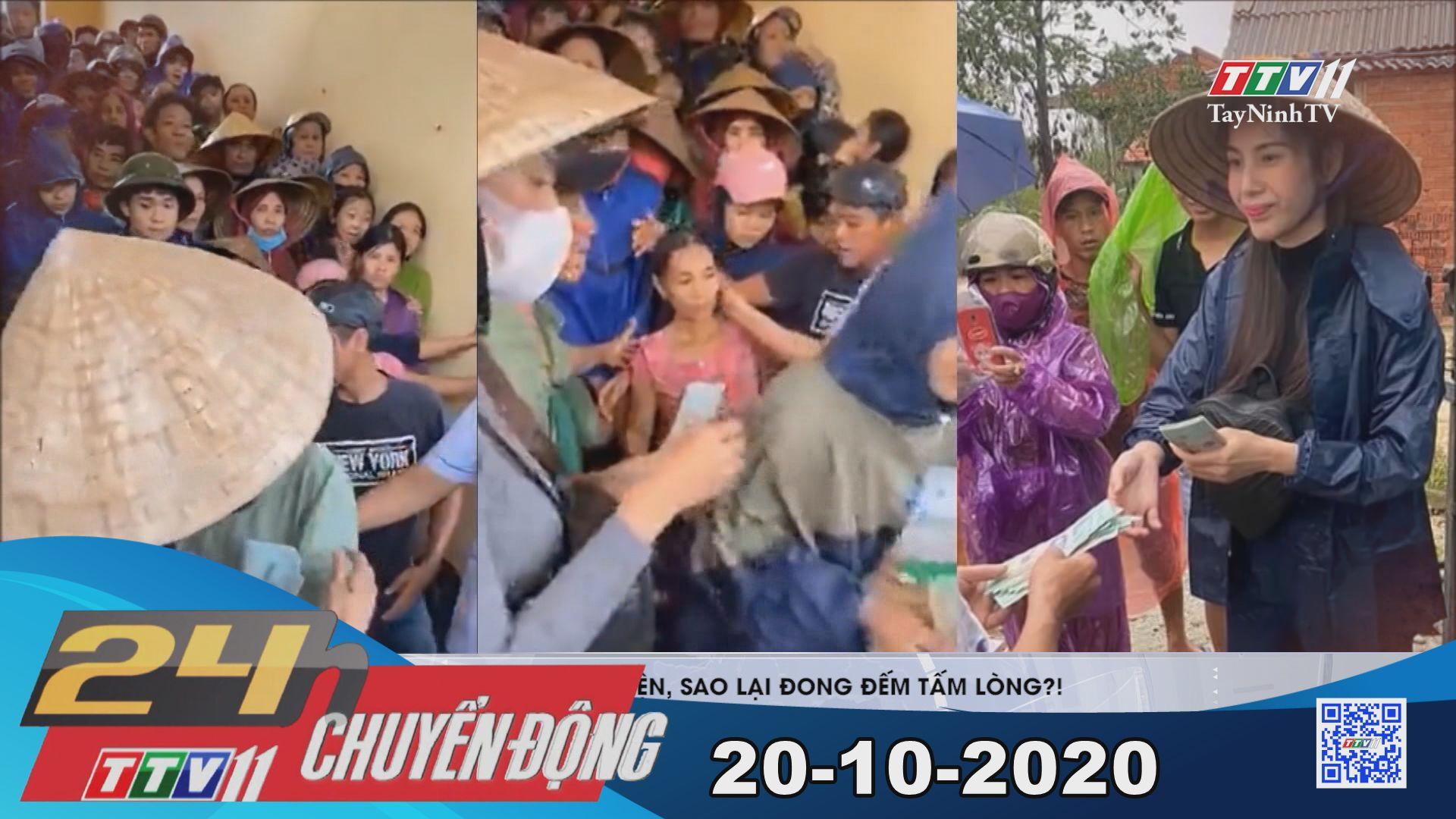 24h Chuyển động 20-10-2020 | Tin tức hôm nay | TayNinhTV