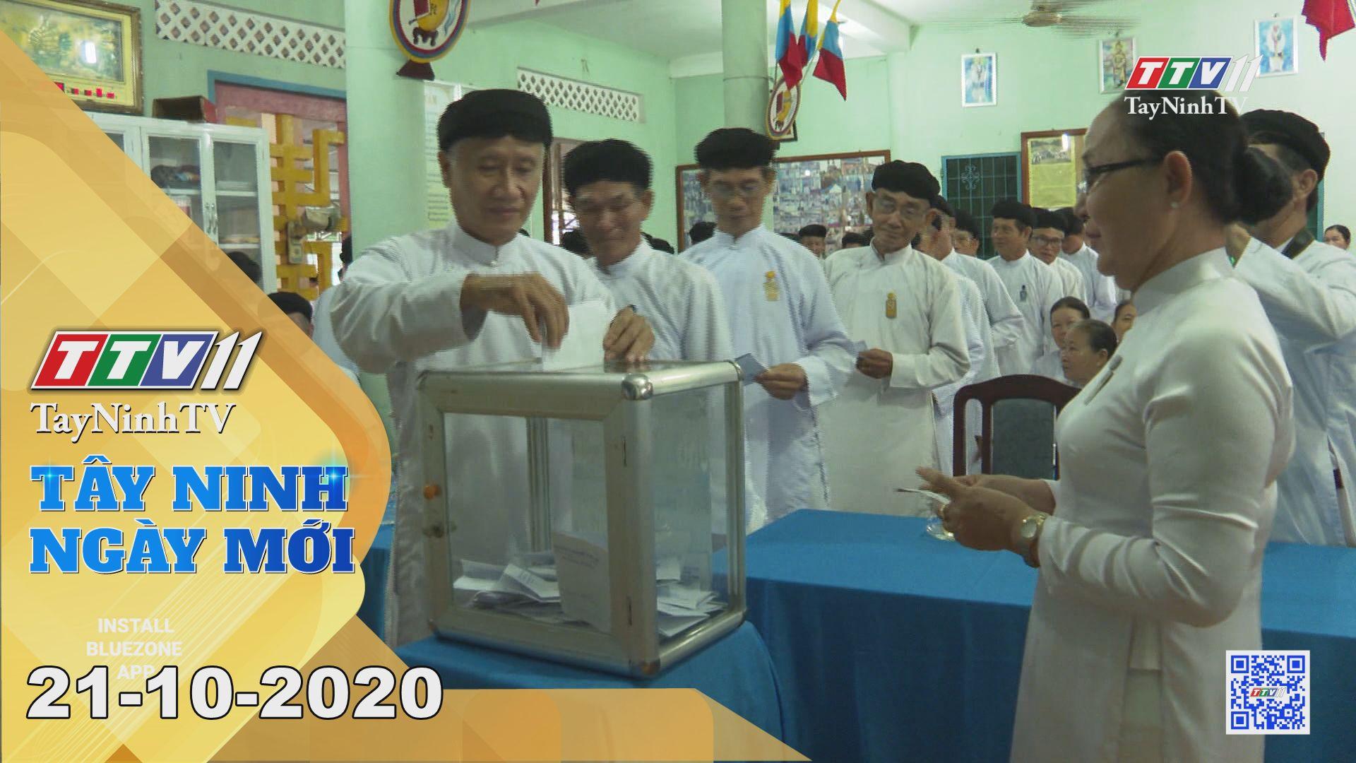 Tây Ninh Ngày Mới 21-10-2020 | Tin tức hôm nay | TayNinhTV