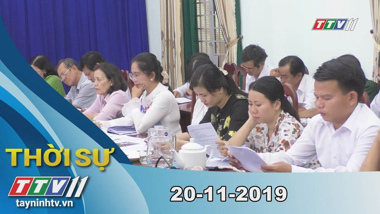 Thời Sự Tây Ninh 20-11-2019 | Tin tức hôm nay | Tây Ninh TV
