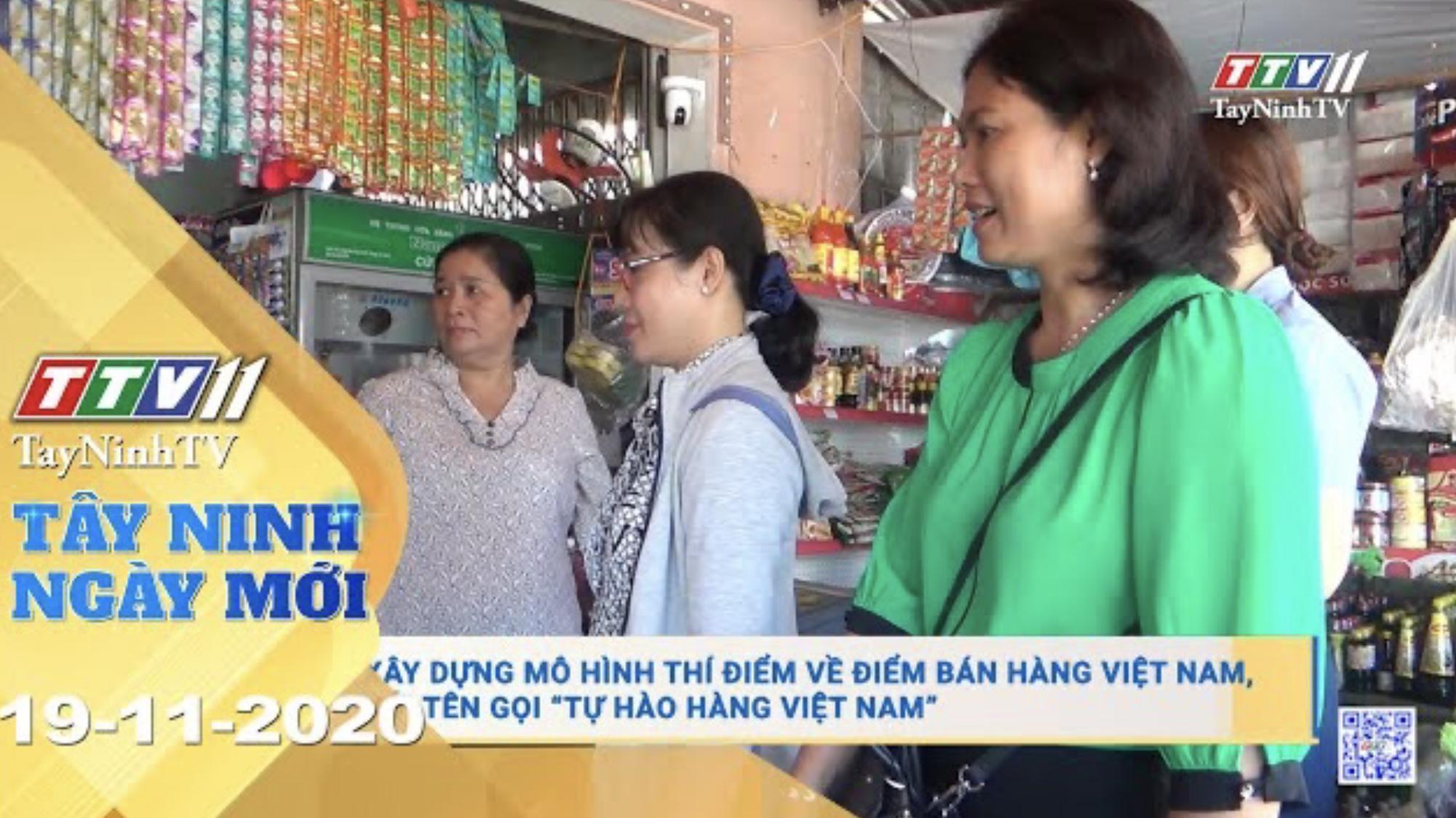 Tây Ninh Ngày Mới 20-11-2020 | Tin tức hôm nay | TayNinhTV