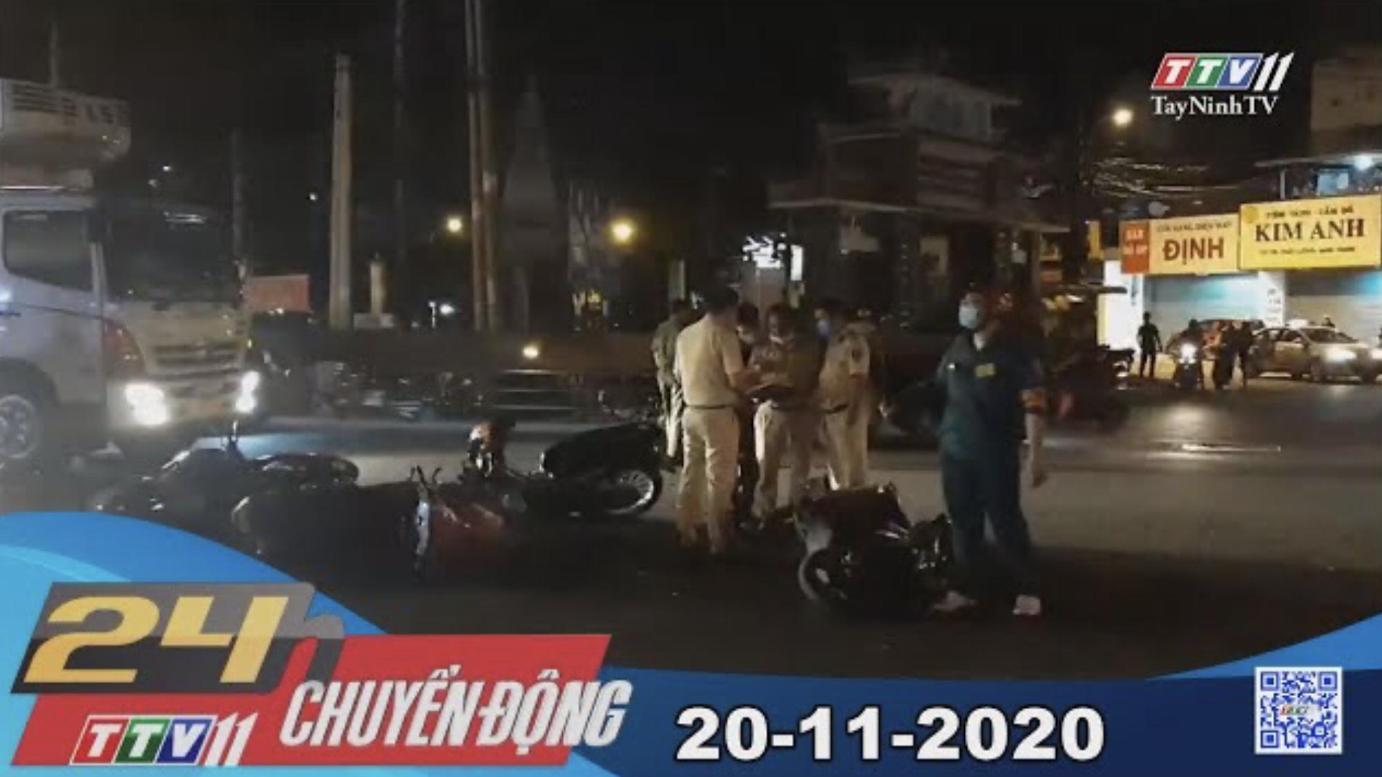 24h Chuyển động 20-11-2020 | Tin tức hôm nay | TayNinhTV