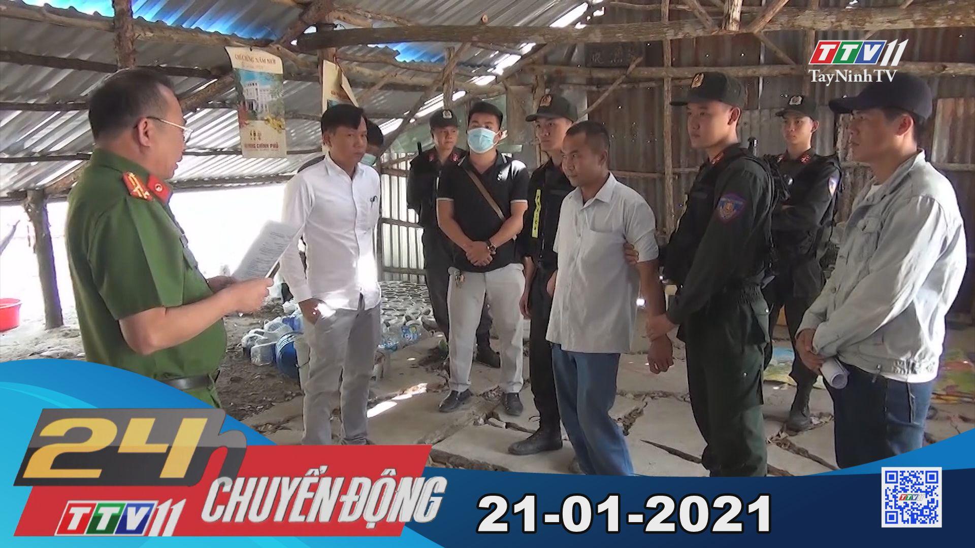 24h Chuyển động 21-01-2021 | Tin tức hôm nay | TayNinhTV