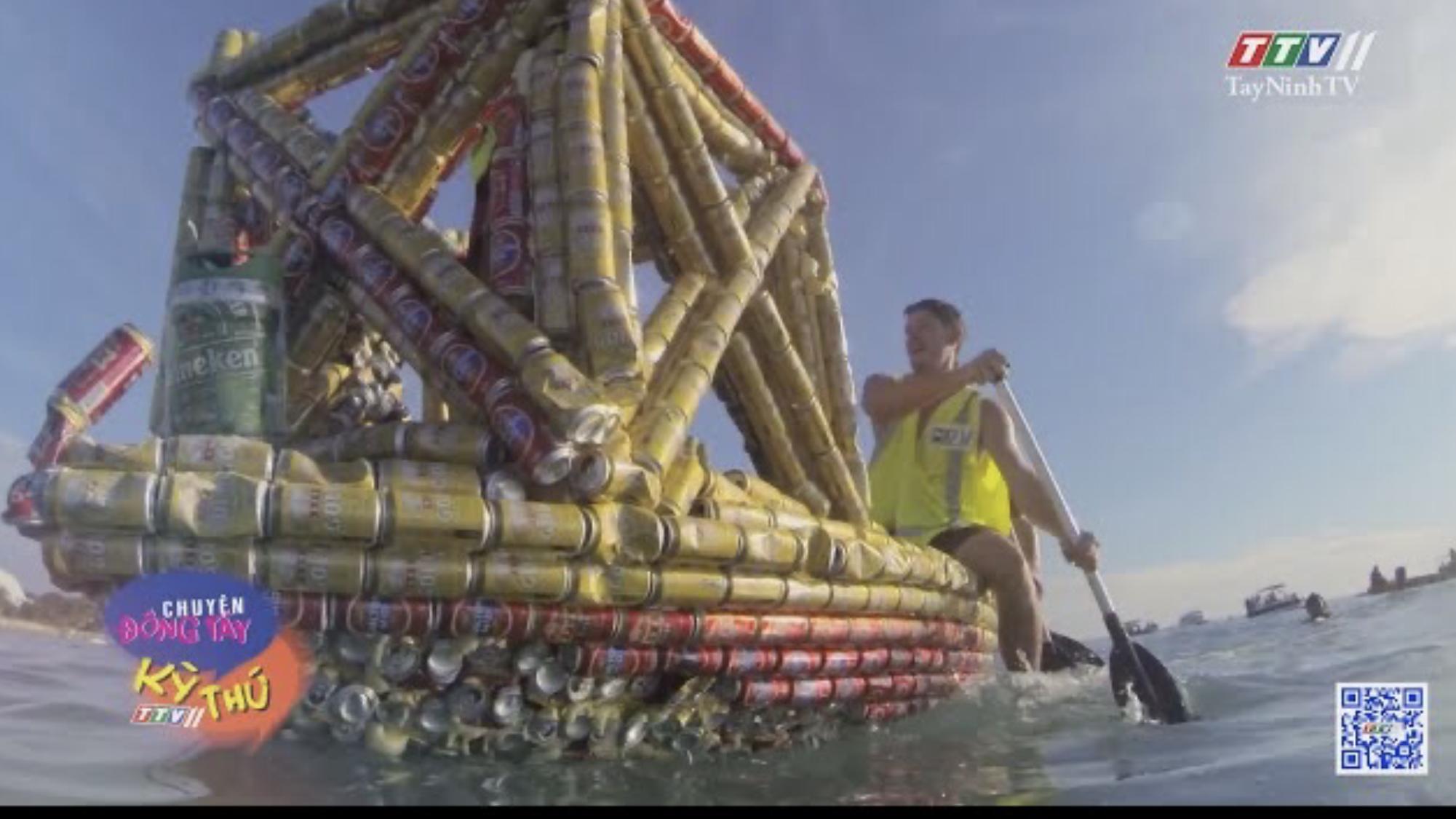 Độc đáo lễ đua thuyền làm từ vỏ lon bia | CHUYỆN ĐÔNG TÂY KỲ THÚ | TayNinhTVE