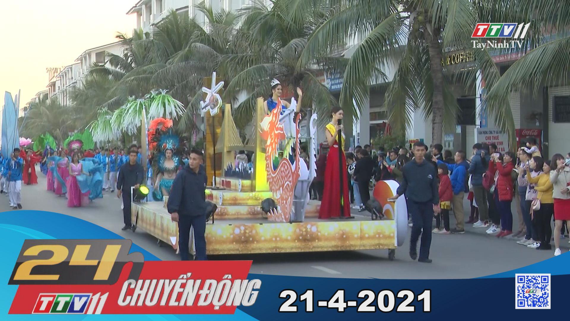 24h Chuyển động 21-4-2021 | Tin tức hôm nay | TayNinhTV