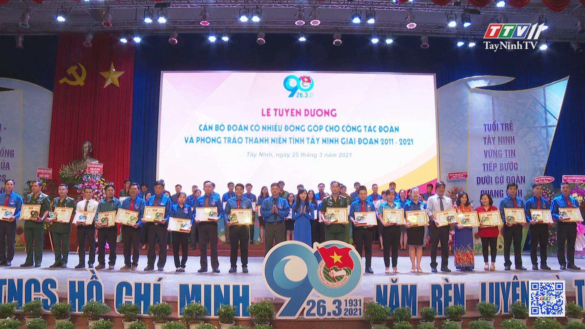 Tuổi trẻ Tây Ninh tự hào truyền thống vẻ vang của Đoàn TNCS Hồ Chí Minh | THANH NIÊN | TayNinhTV