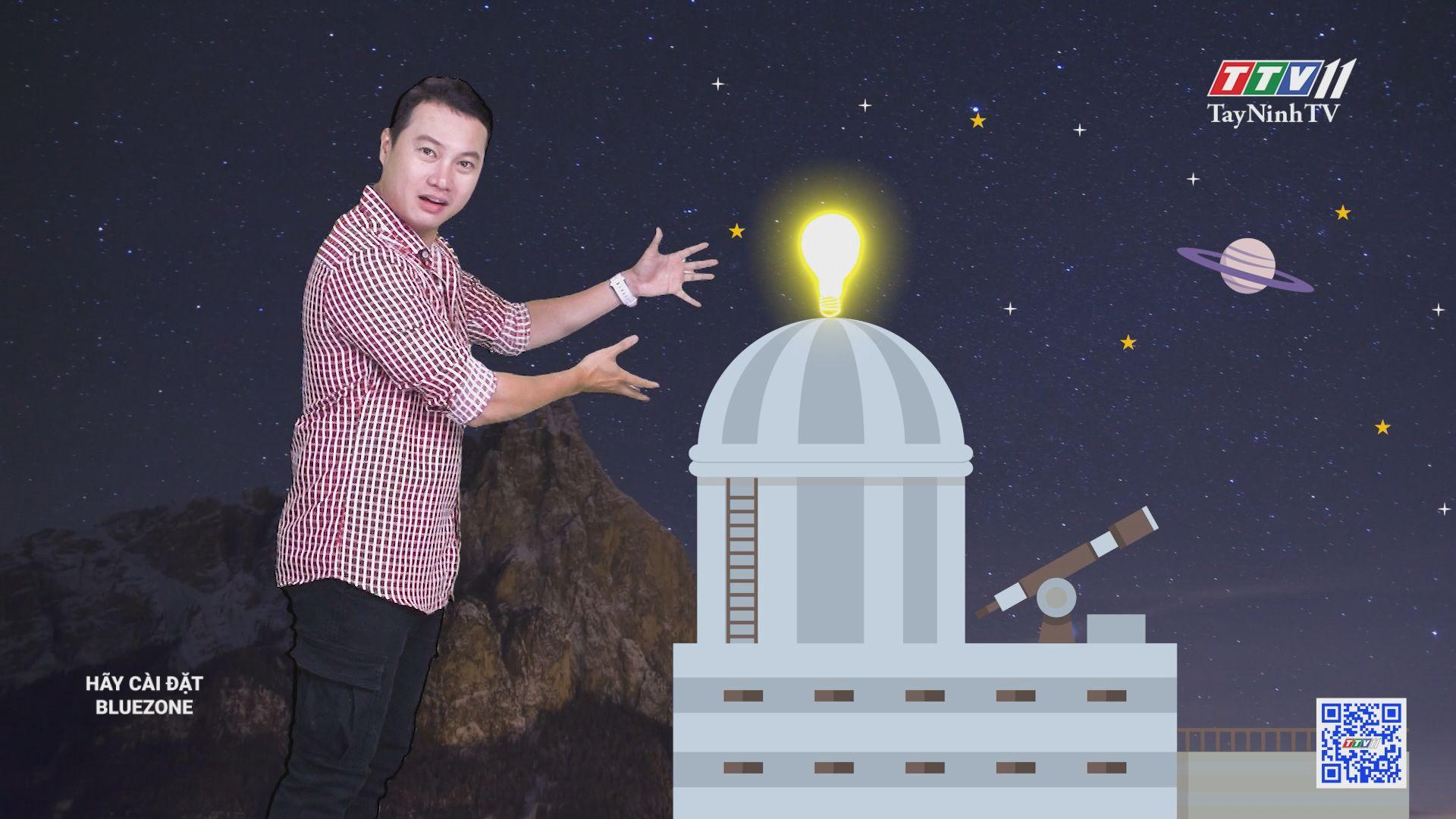 Trạm quan sát thiên văn được làm từ phế liệu | CHUYỆN ĐÔNG TÂY KỲ THÚ | TayNinhTV