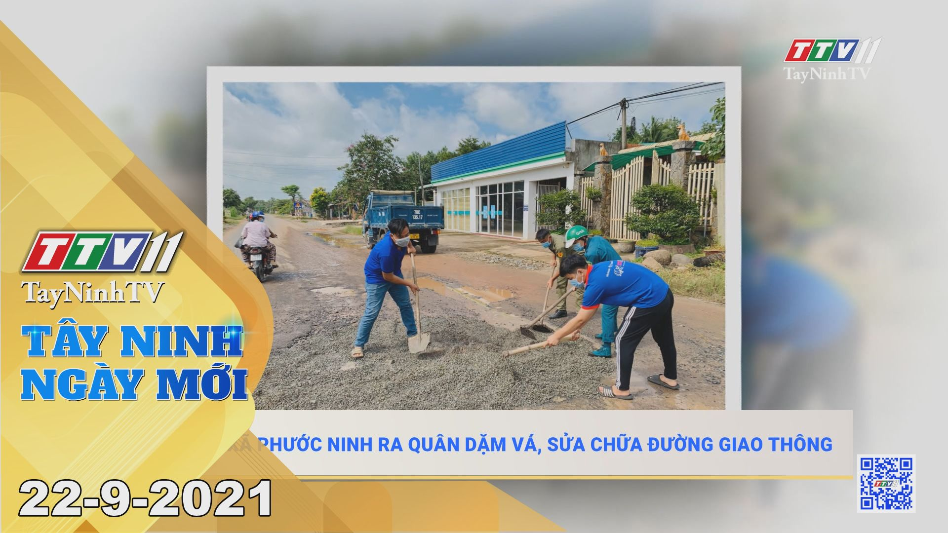Tây Ninh Ngày Mới 22/9/2021 | Tin tức hôm nay | TayNinhTV