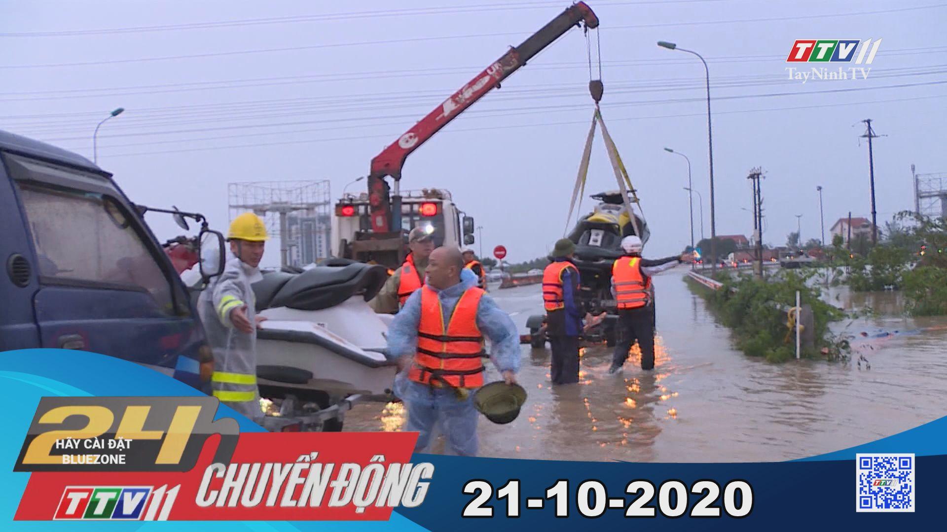 24h Chuyển động 21-10-2020 | Tin tức hôm nay | TayNinhTV