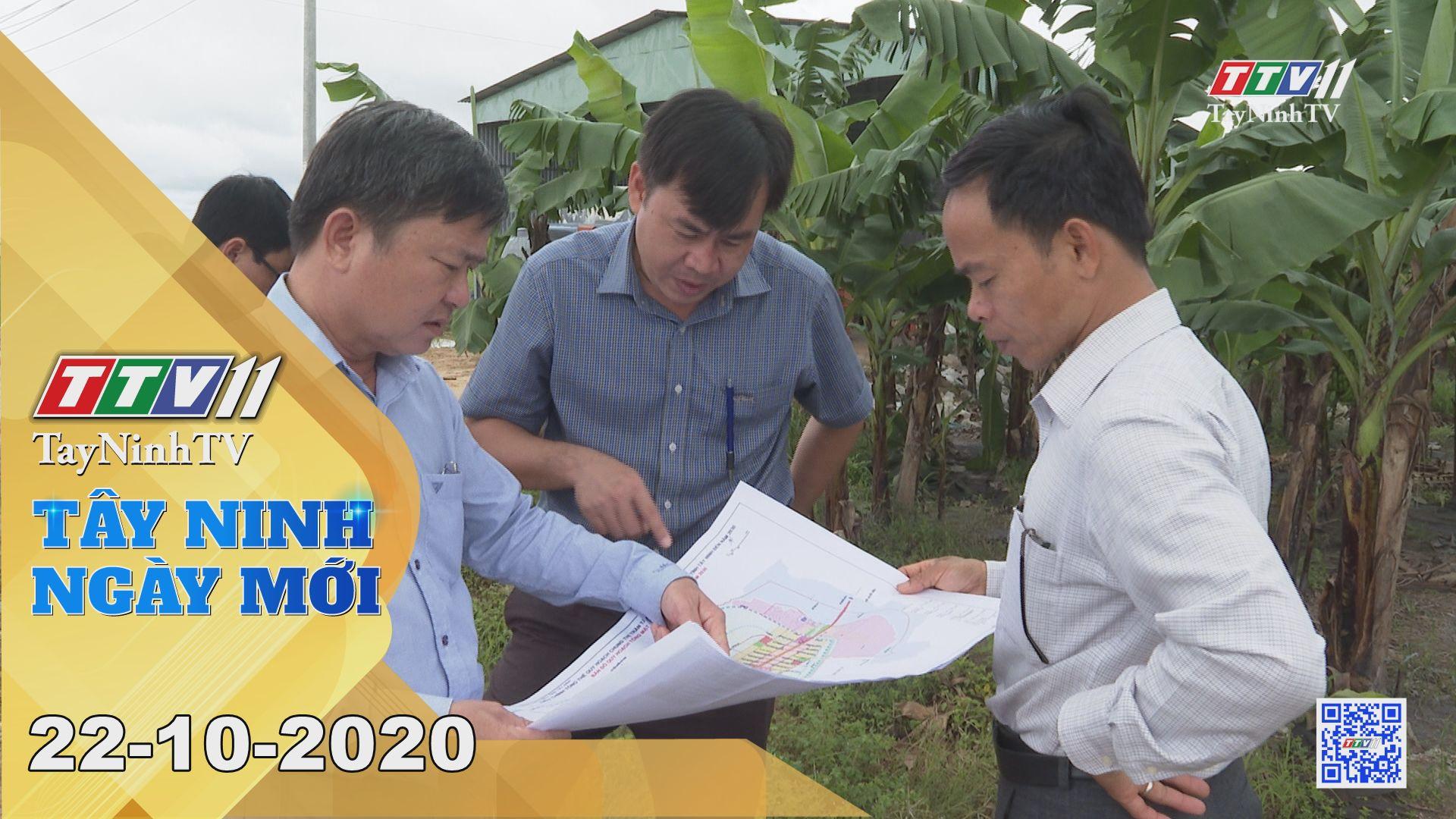 Tây Ninh Ngày Mới 22-10-2020 | Tin tức hôm nay | TayNinhTV