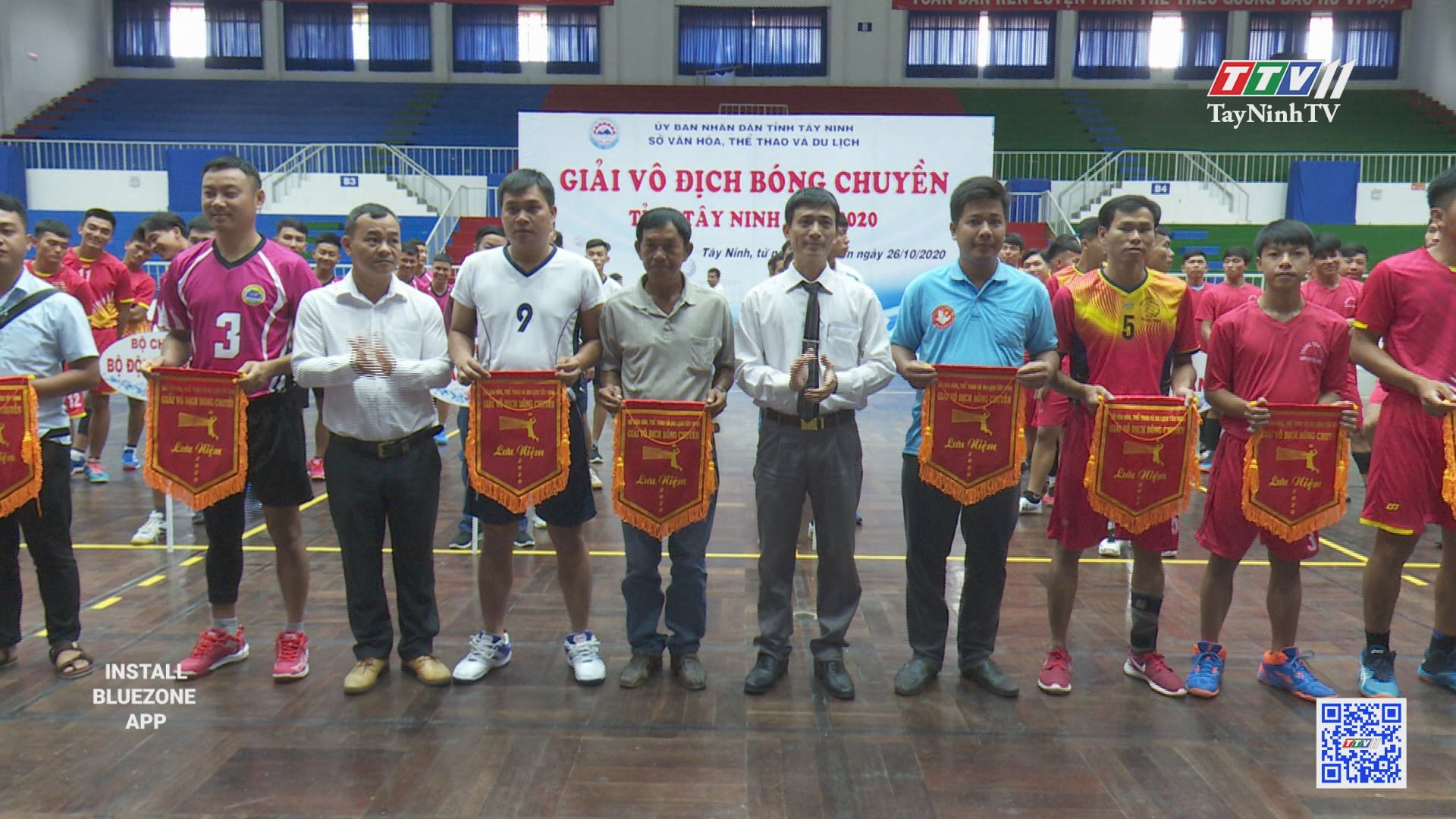 Khai mạc giải bóng chuyền tỉnh Tây Ninh năm 2020   BẢN TIN THỂ THAO   TayNinhTV