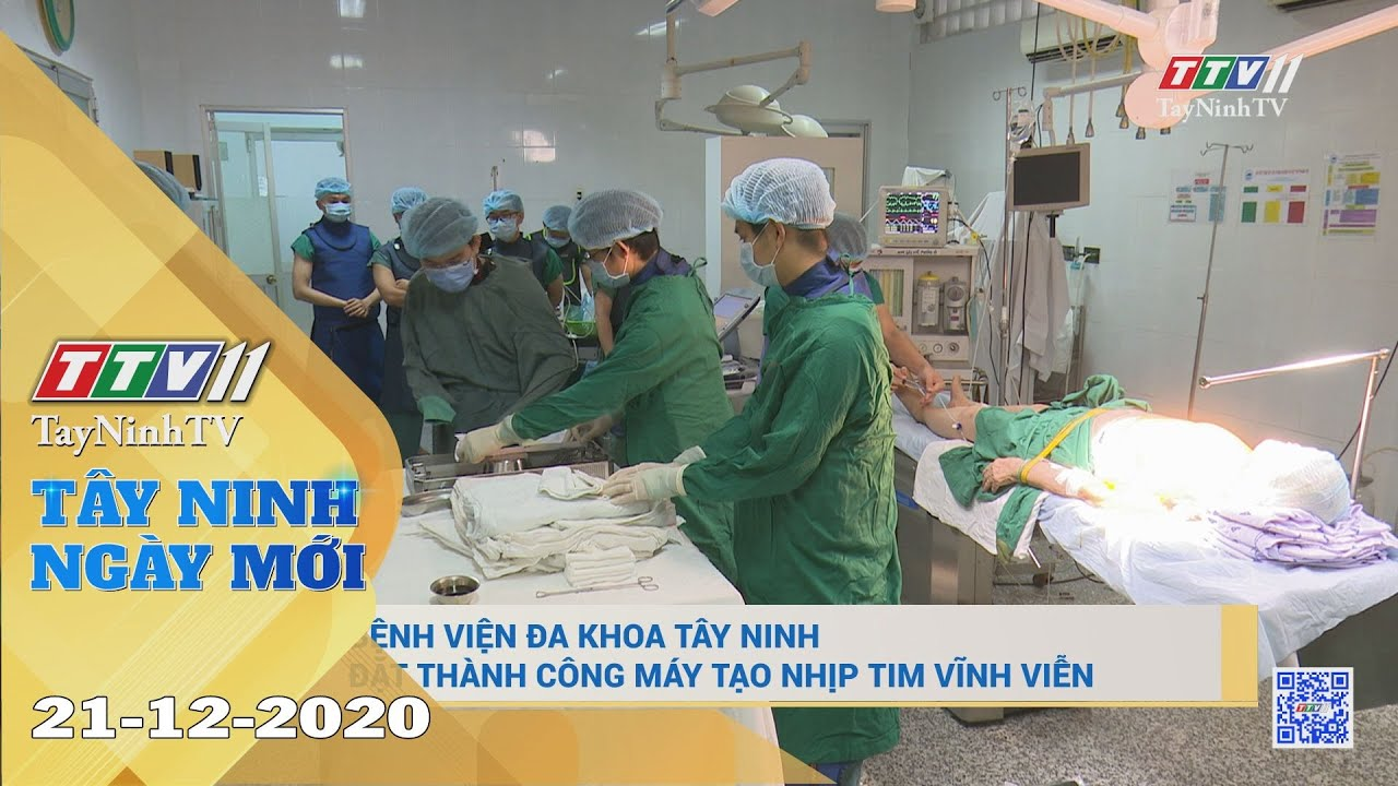 Tây Ninh Ngày Mới 21-12-2020 | Tin tức hôm nay | TayNinhTV
