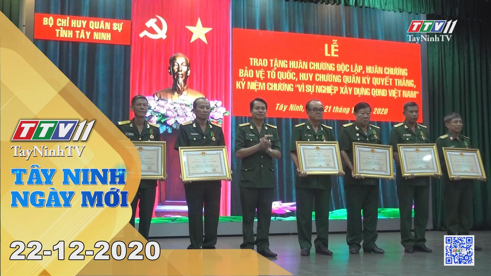 Tây Ninh Ngày Mới 22-12-2020 | Tin tức hôm nay | TayNinhTV