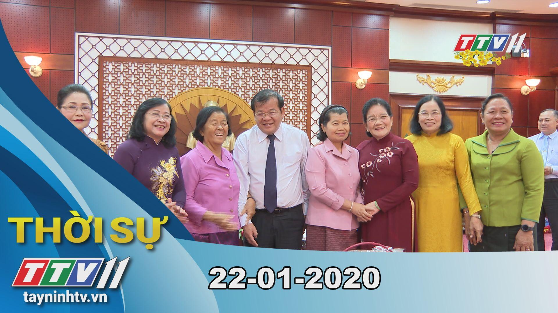 Thời sự Tây Ninh 22-01-2020 | Tin tức hôm nay | TayNinhTV