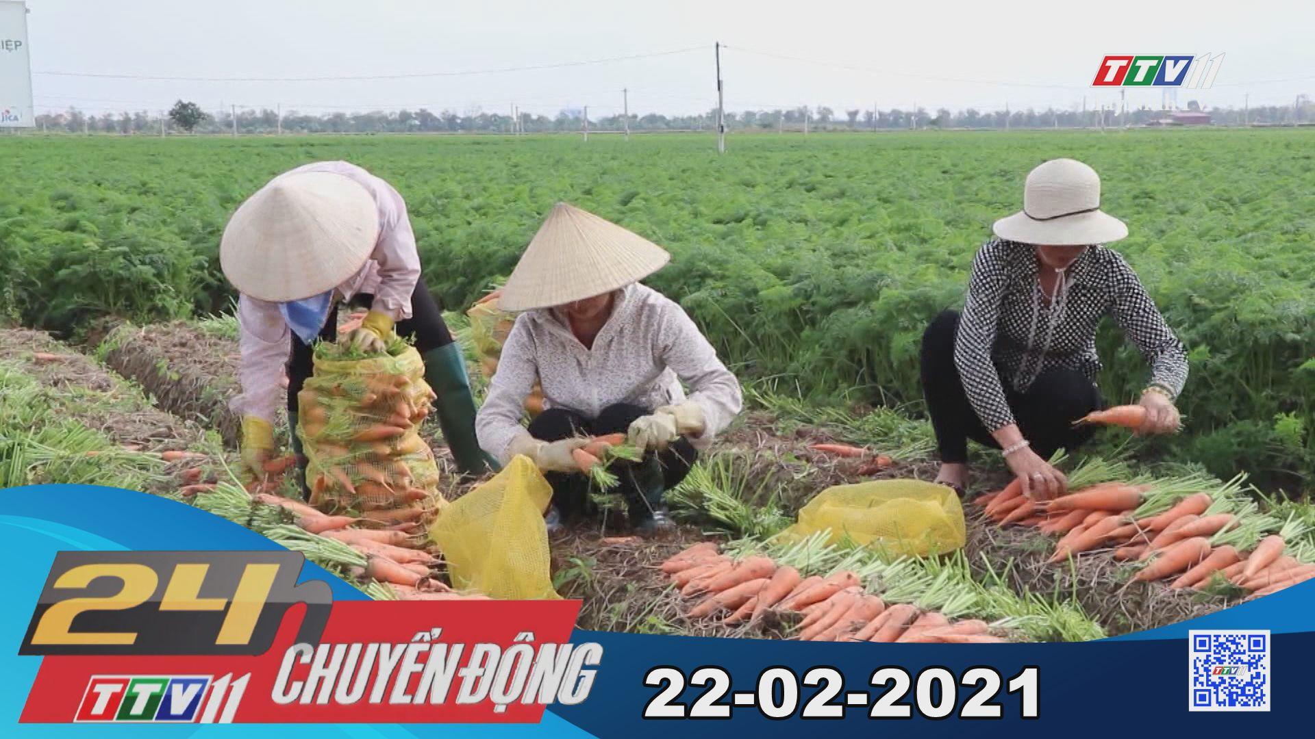 24h Chuyển động 22-02-2021 | Tin tức hôm nay | TayNinhTV