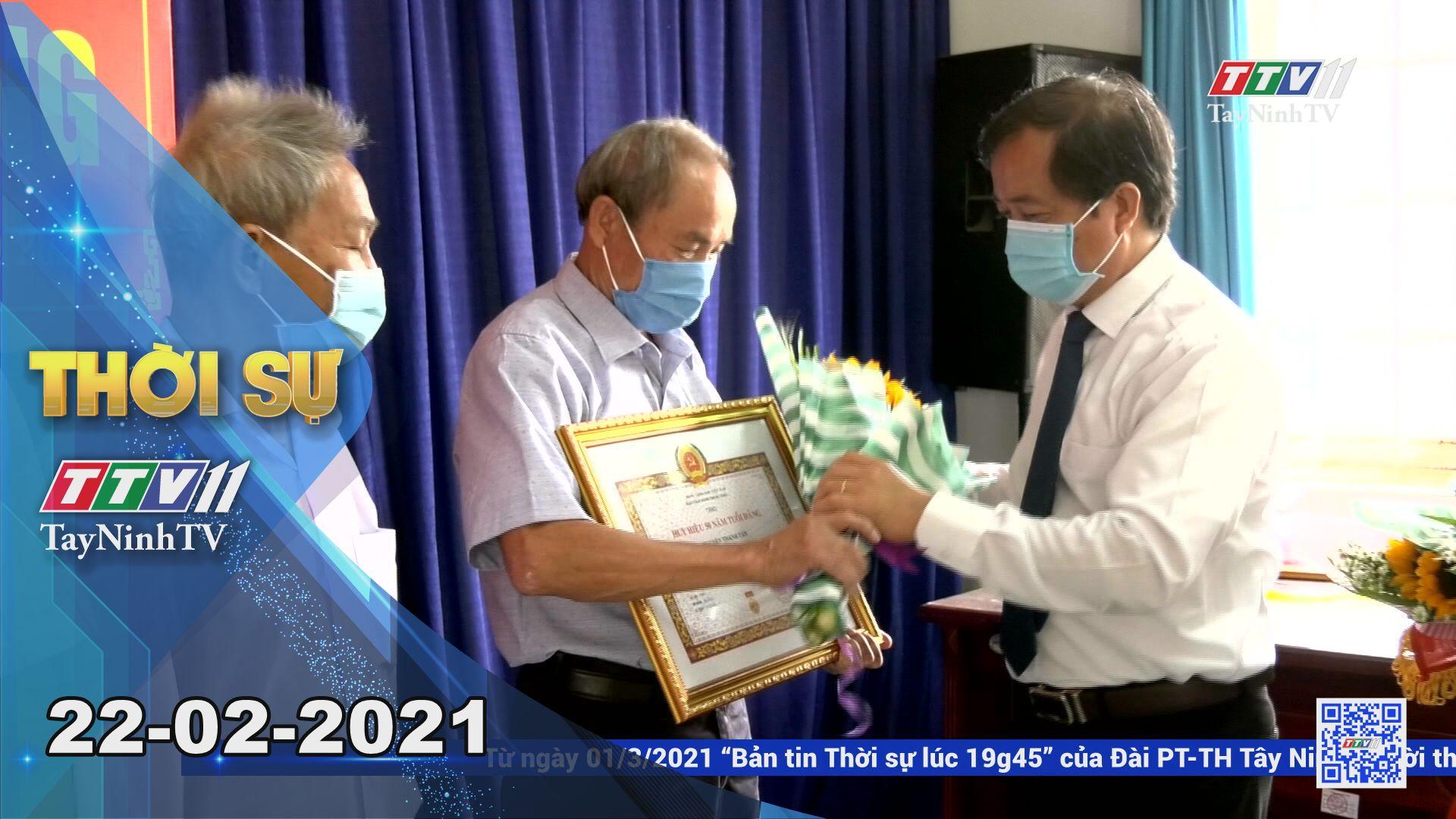 Thời sự Tây Ninh 22-02-2021 | Tin tức hôm nay | TayNinhTV