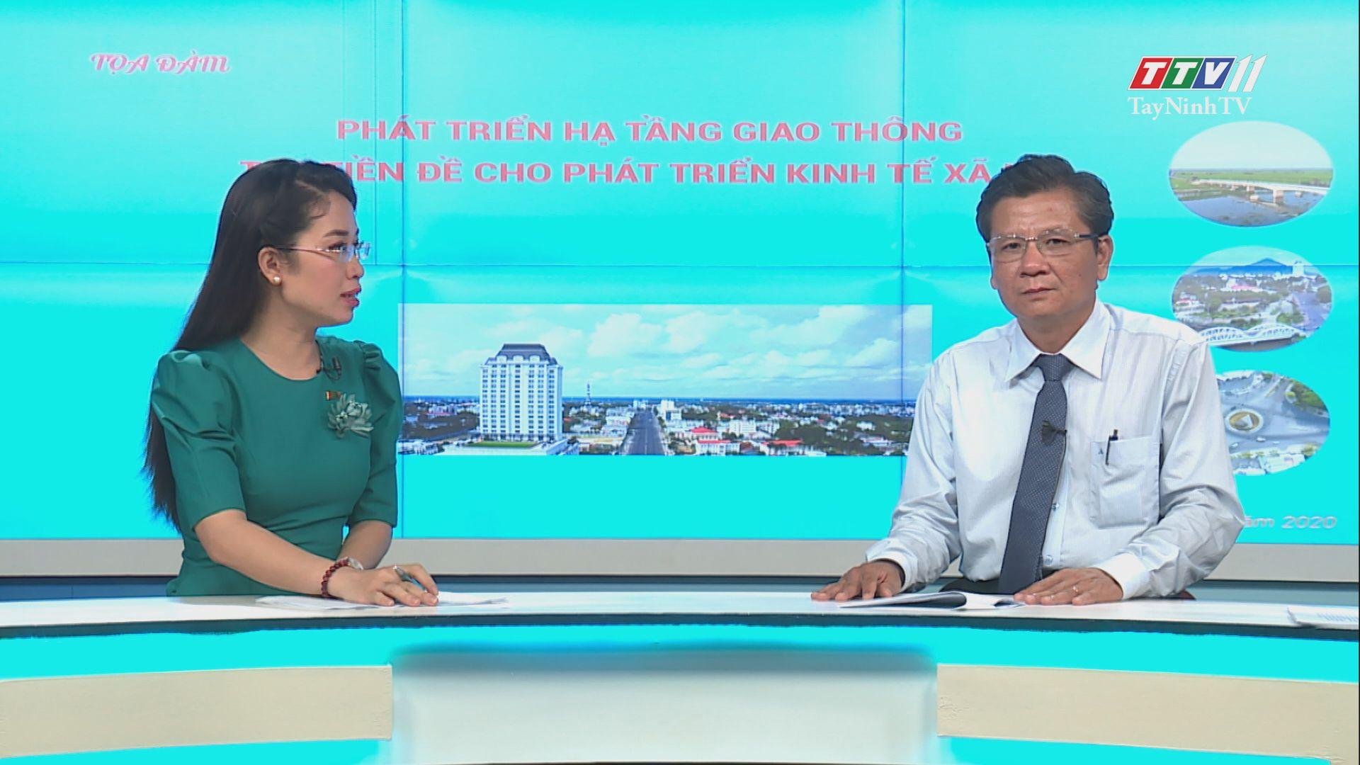 Phát triển hạ tầng giao thông tạo tiền đề cho phát triển kinh tế xã hội | TIẾNG NÓI CỬ TRI | TayNinhTV
