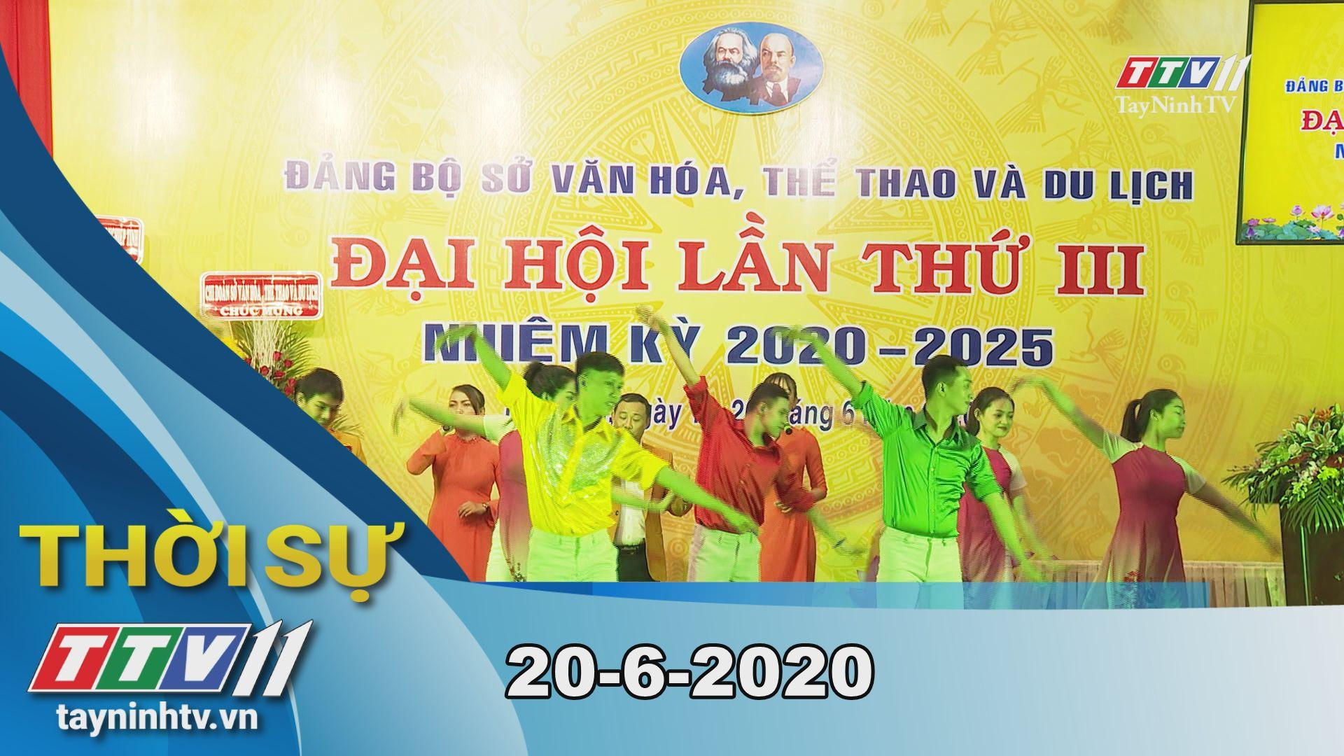 Thời sự Tây Ninh 20-6-2020 | Tin tức hôm nay | TayNinhTV