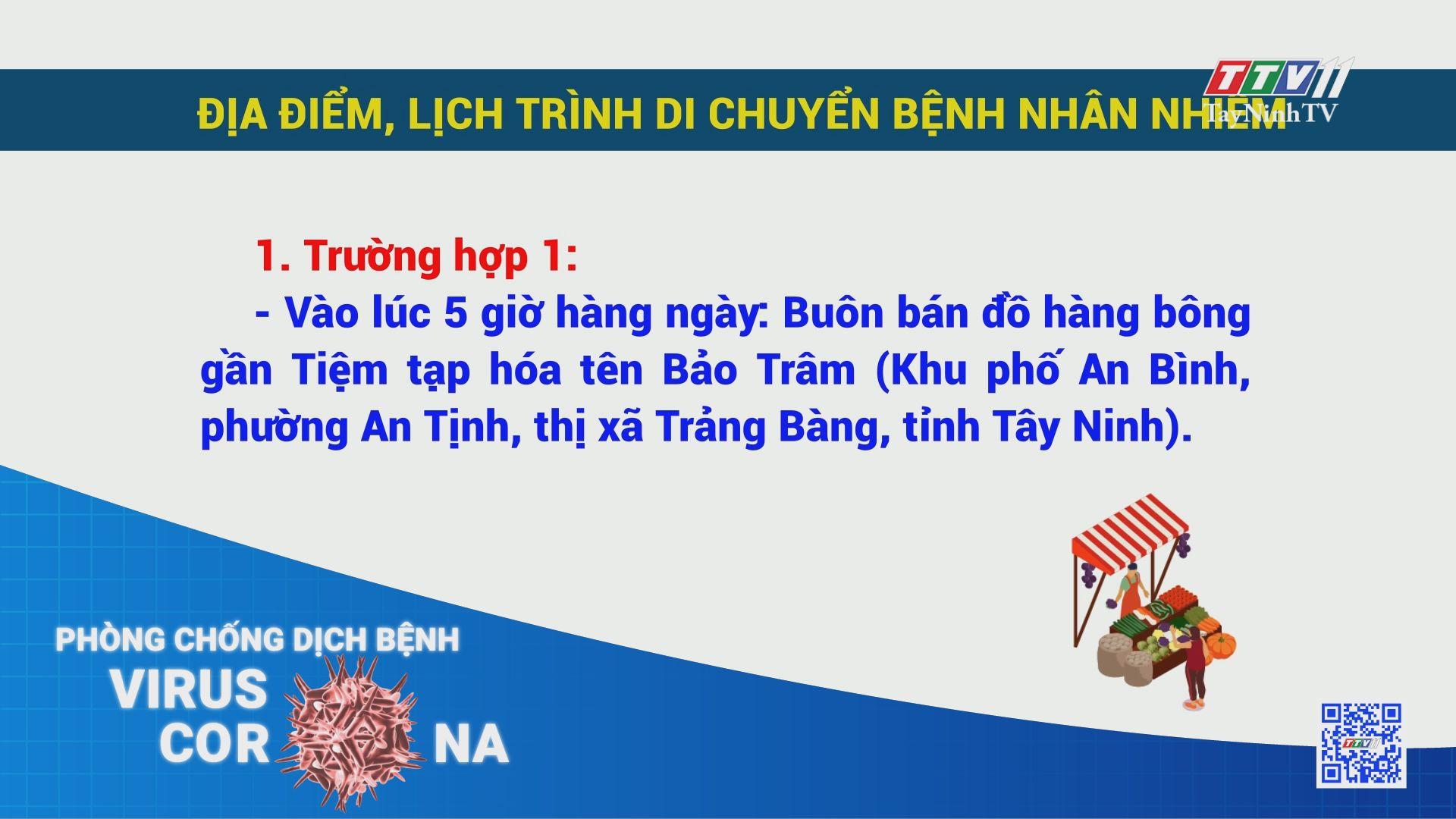 Thông báo khẩn rà soát người tại các khu vực | THÔNG TIN DỊCH COVID-19 | TayNinhTV