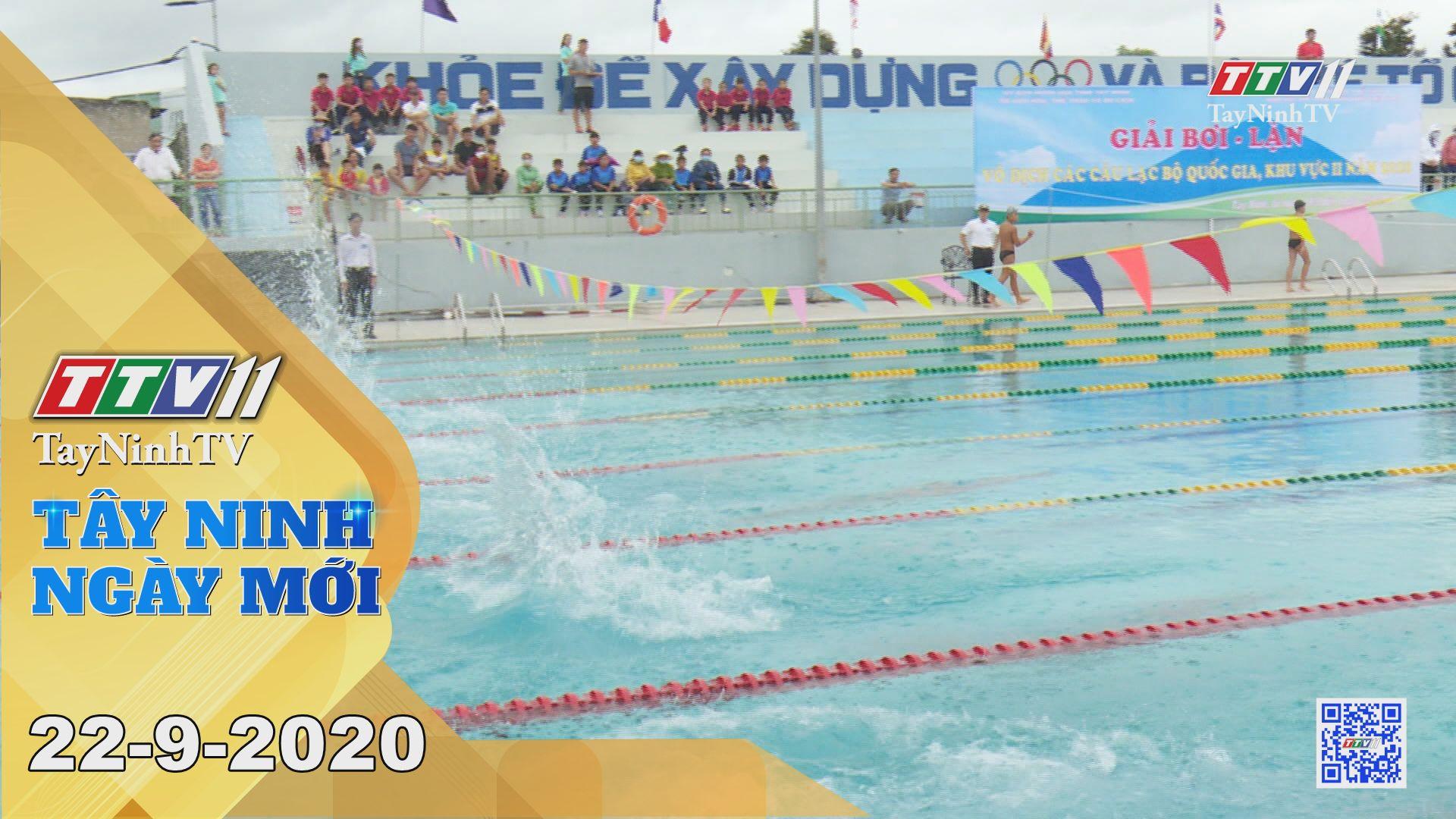 Tây Ninh Ngày Mới 22-9-2020 | Tin tức hôm nay | TayNinhTV