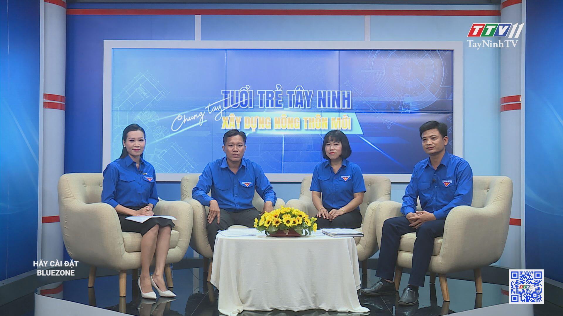 Tuổi trẻ Tây Ninh chung tay xây dựng nông thôn mới | TayNinhTV