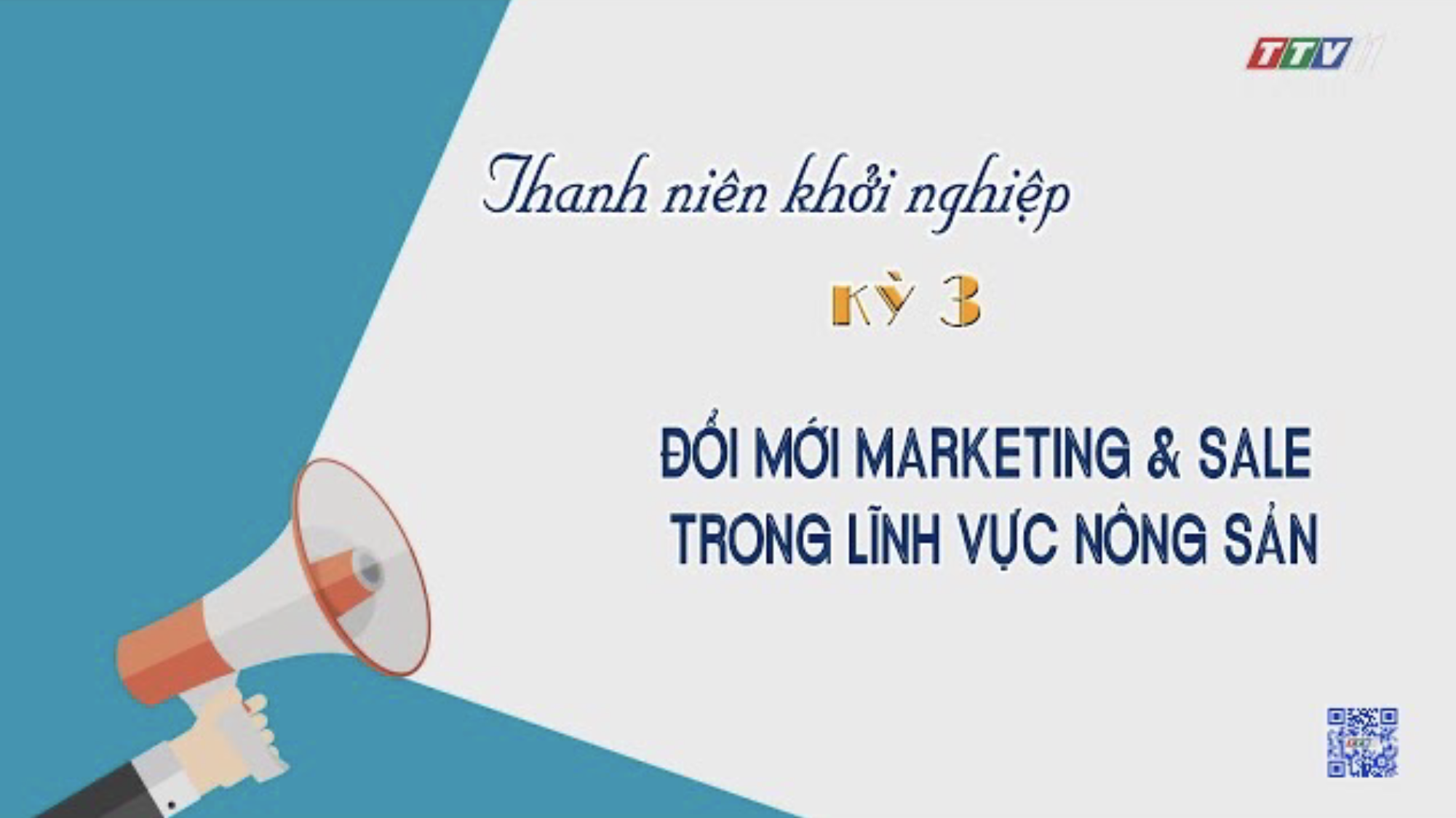 Đổi mới marketing & sale trong lĩnh vực nông sản | HƯỚNG NGHIỆP VIỆC LÀM | TayNinhTV