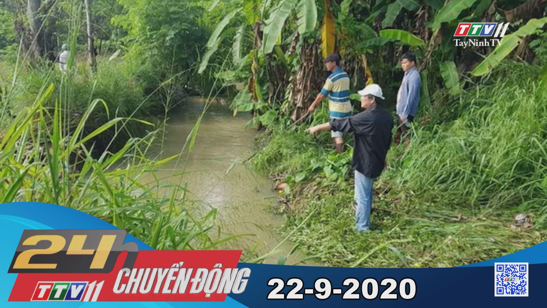 24h Chuyển động 22-9-2020 | Tin tức hôm nay | TayNinhTV